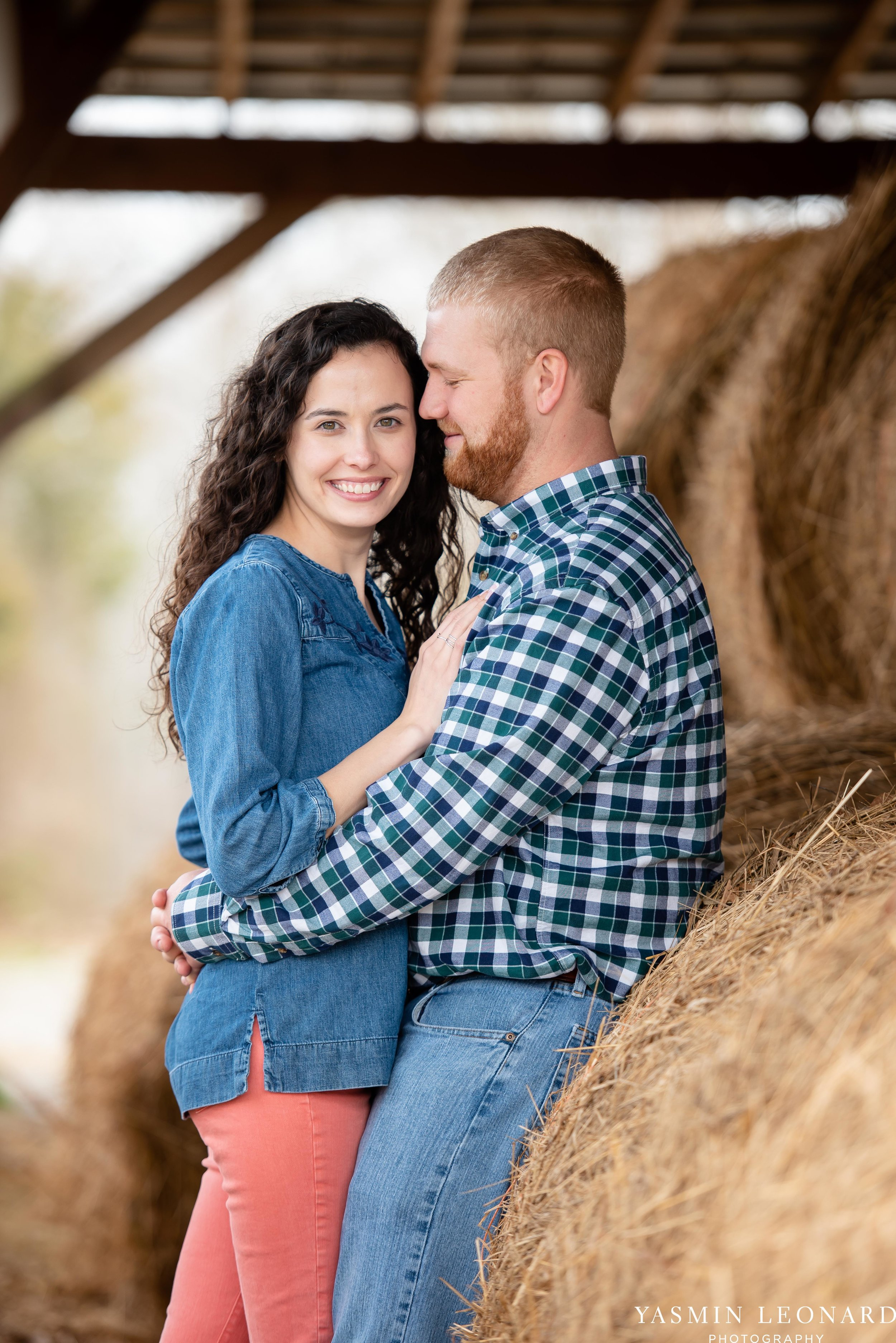Wallburg Engagement Session - Country Engagement Session - High Point Engagement Session - Outdoor Engagement Session - Engagement Photos - Barn Engagement Photos - NC Photographer - High Point Photographer-10.jpg