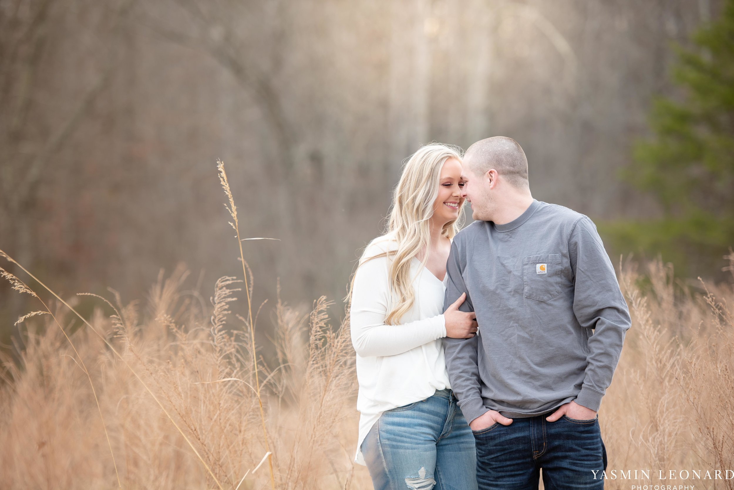 Luna Trail Engagement Session - NC Barns - NC Venues - NC Photographer - NC Country Wedding - Engagement Session Ideas - Engagement Photos - E-Session Photos - Yasmin Leonard Photography-1.jpg