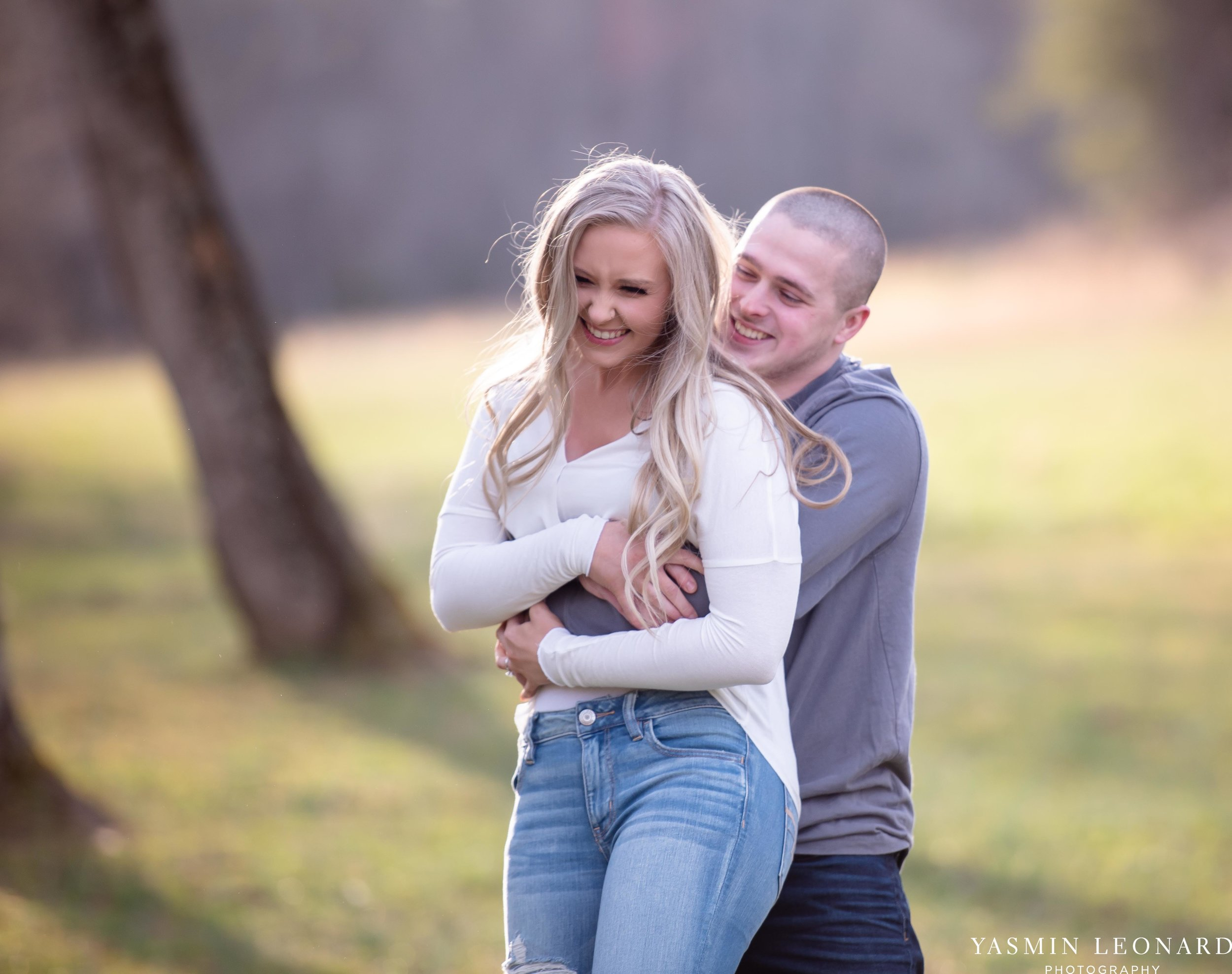 Luna Trail Engagement Session - NC Barns - NC Venues - NC Photographer - NC Country Wedding - Engagement Session Ideas - Engagement Photos - E-Session Photos - Yasmin Leonard Photography-8.jpg