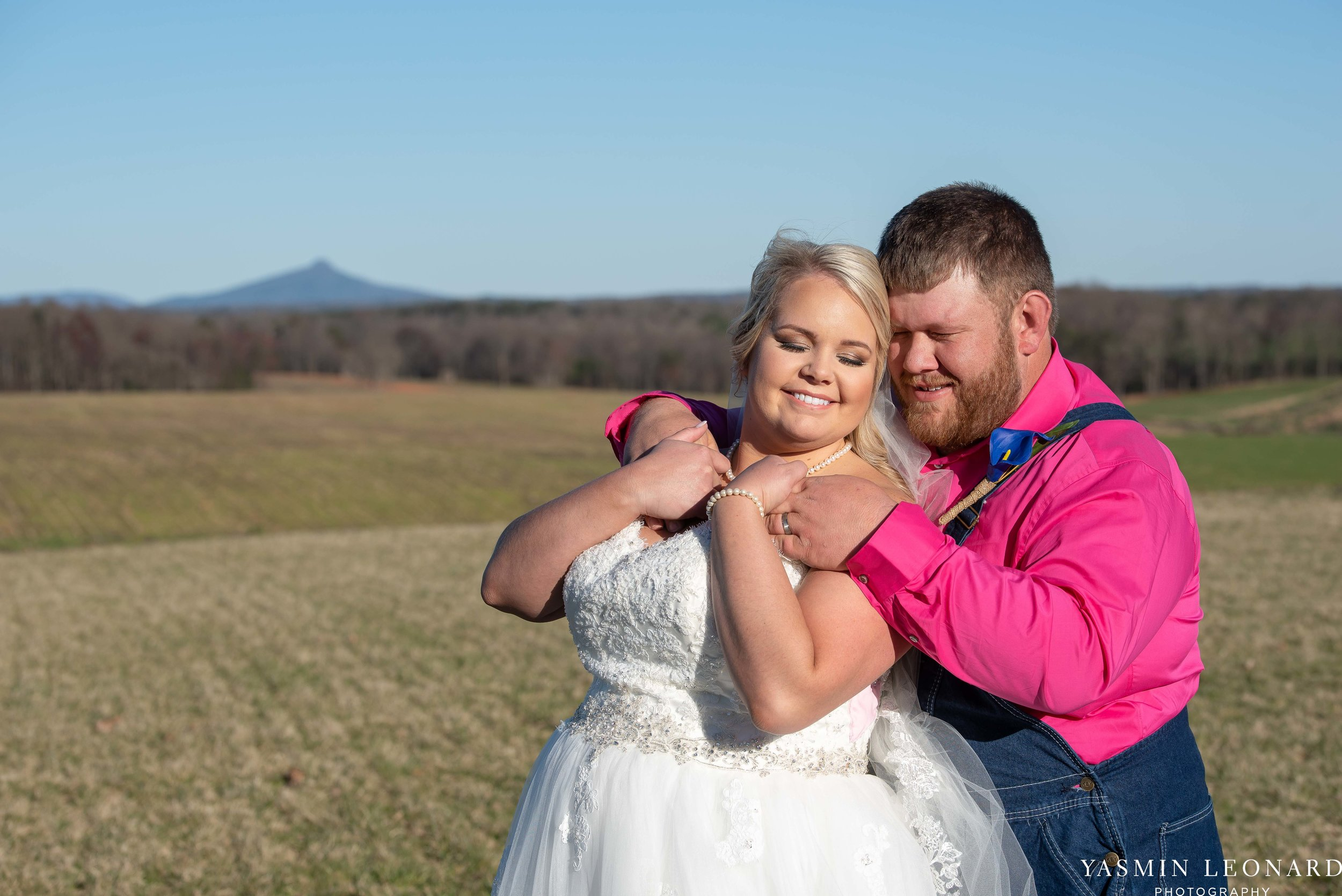 The Barn at Heritage Farm - Country Wedding - Pink and Blue Wedding - Barn Wedding - Outdoor Wedding - Cotton and Wheat Decor - Groom in Bibs - Pink Bridal Colors - Yasmin Leonard Photography-21.jpg