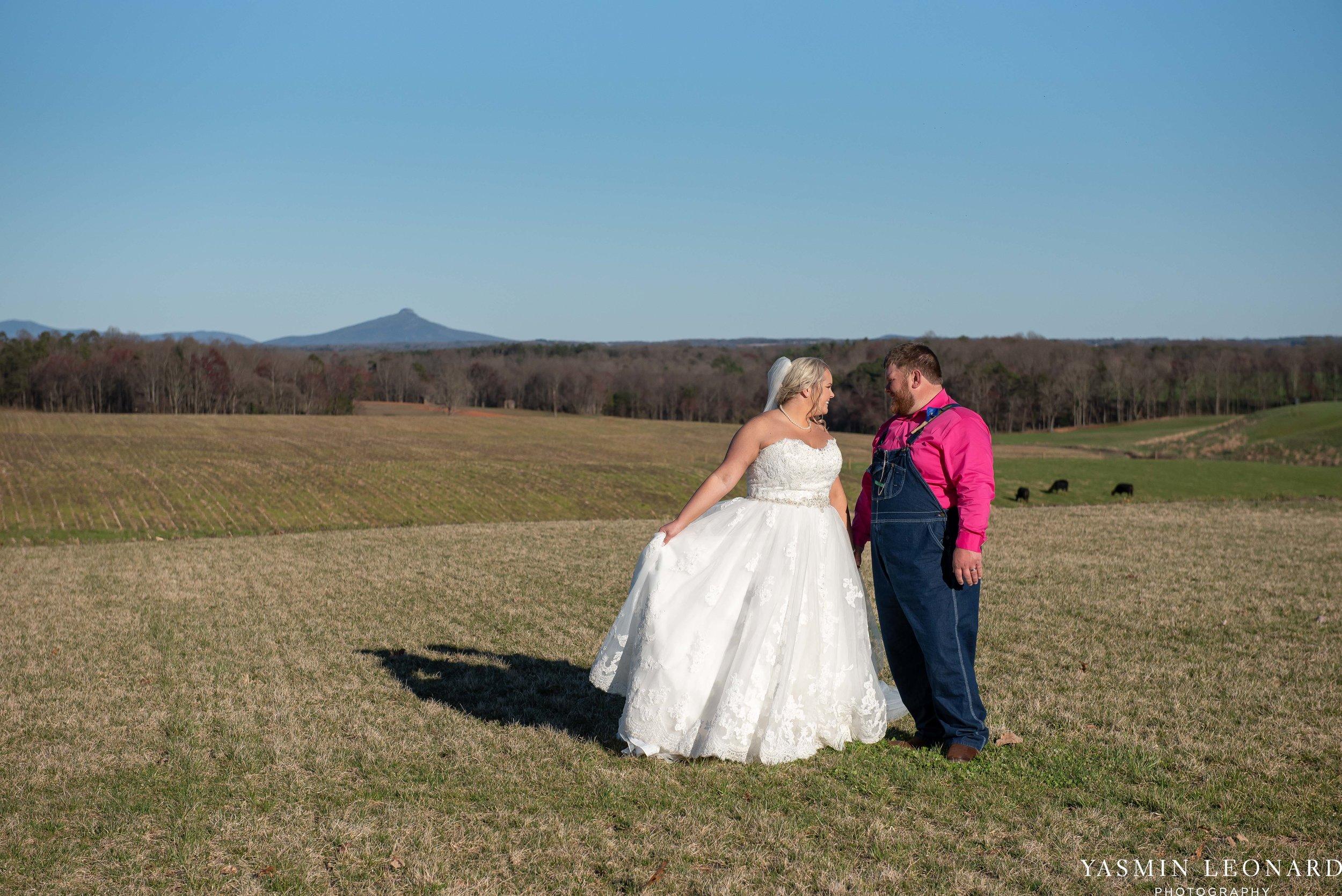 The Barn at Heritage Farm - Country Wedding - Pink and Blue Wedding - Barn Wedding - Outdoor Wedding - Cotton and Wheat Decor - Groom in Bibs - Pink Bridal Colors - Yasmin Leonard Photography-20.jpg