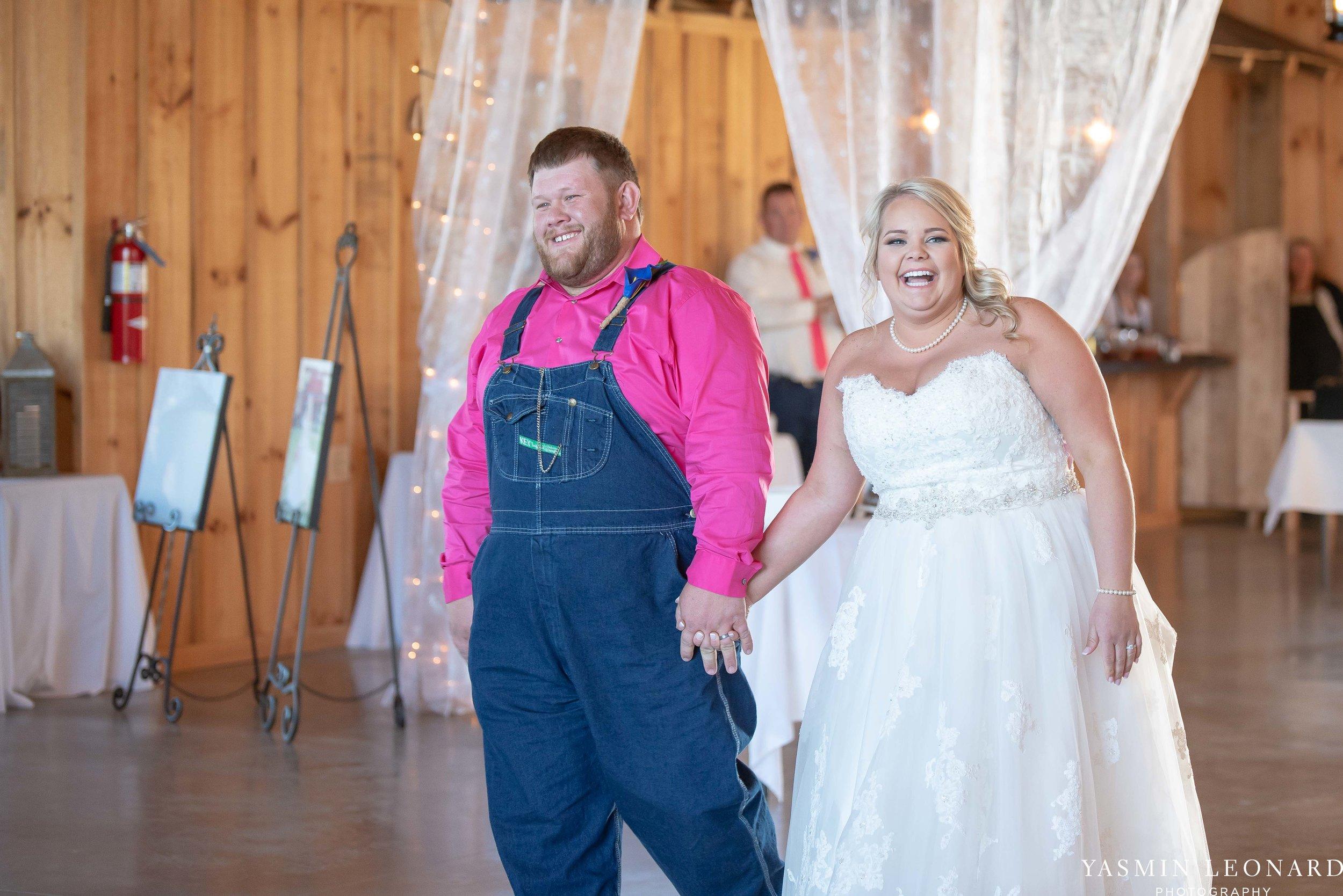 The Barn at Heritage Farm - Country Wedding - Pink and Blue Wedding - Barn Wedding - Outdoor Wedding - Cotton and Wheat Decor - Groom in Bibs - Pink Bridal Colors - Yasmin Leonard Photography-23.jpg
