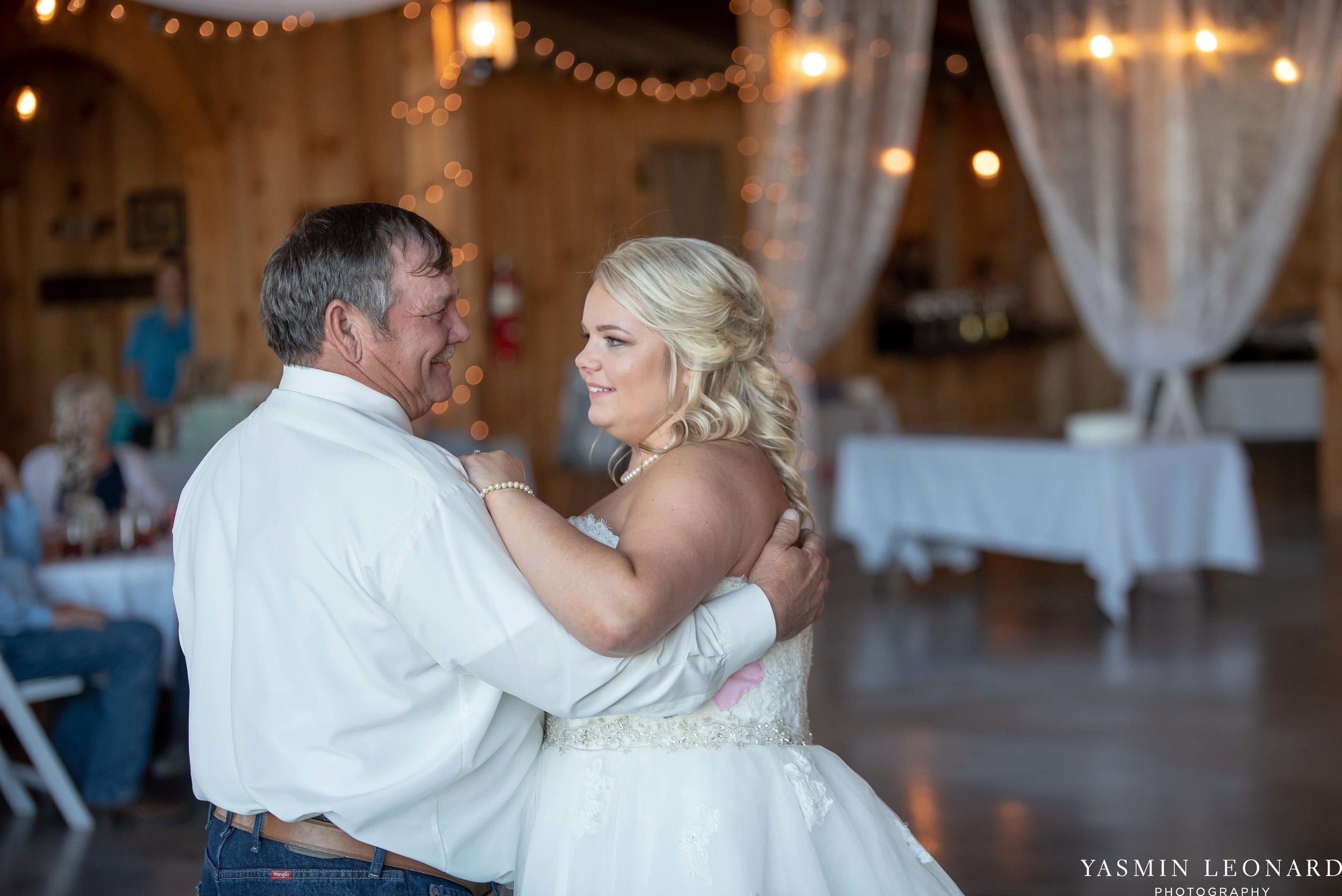 The Barn at Heritage Farm - Country Wedding - Pink and Blue Wedding - Barn Wedding - Outdoor Wedding - Cotton and Wheat Decor - Groom in Bibs - Pink Bridal Colors - Yasmin Leonard Photography-26.jpg