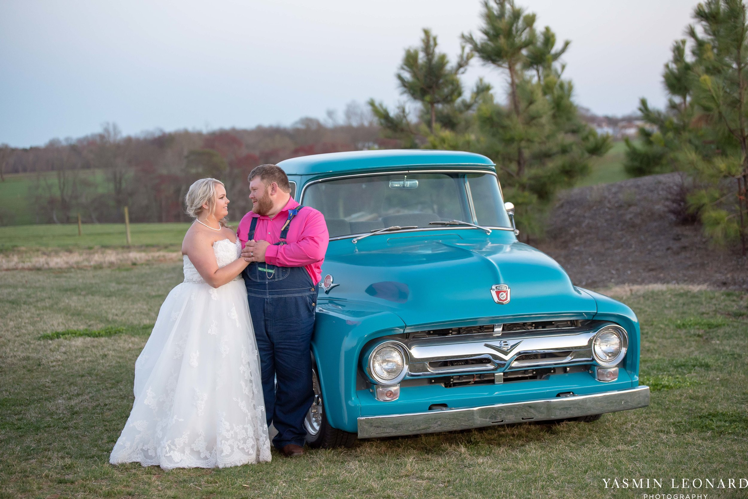 The Barn at Heritage Farm - Country Wedding - Pink and Blue Wedding - Barn Wedding - Outdoor Wedding - Cotton and Wheat Decor - Groom in Bibs - Pink Bridal Colors - Yasmin Leonard Photography-28.jpg