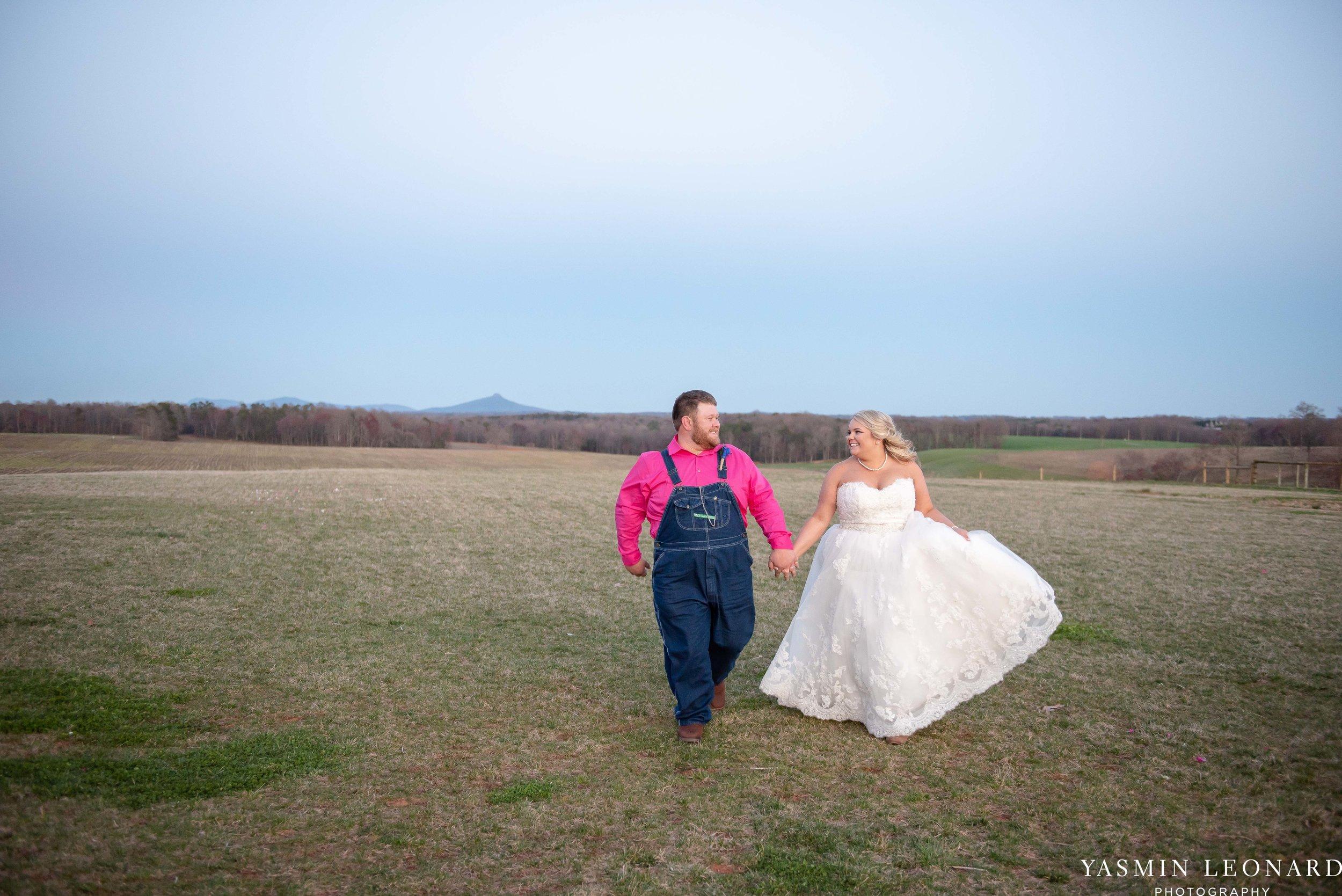 The Barn at Heritage Farm - Country Wedding - Pink and Blue Wedding - Barn Wedding - Outdoor Wedding - Cotton and Wheat Decor - Groom in Bibs - Pink Bridal Colors - Yasmin Leonard Photography-29.jpg