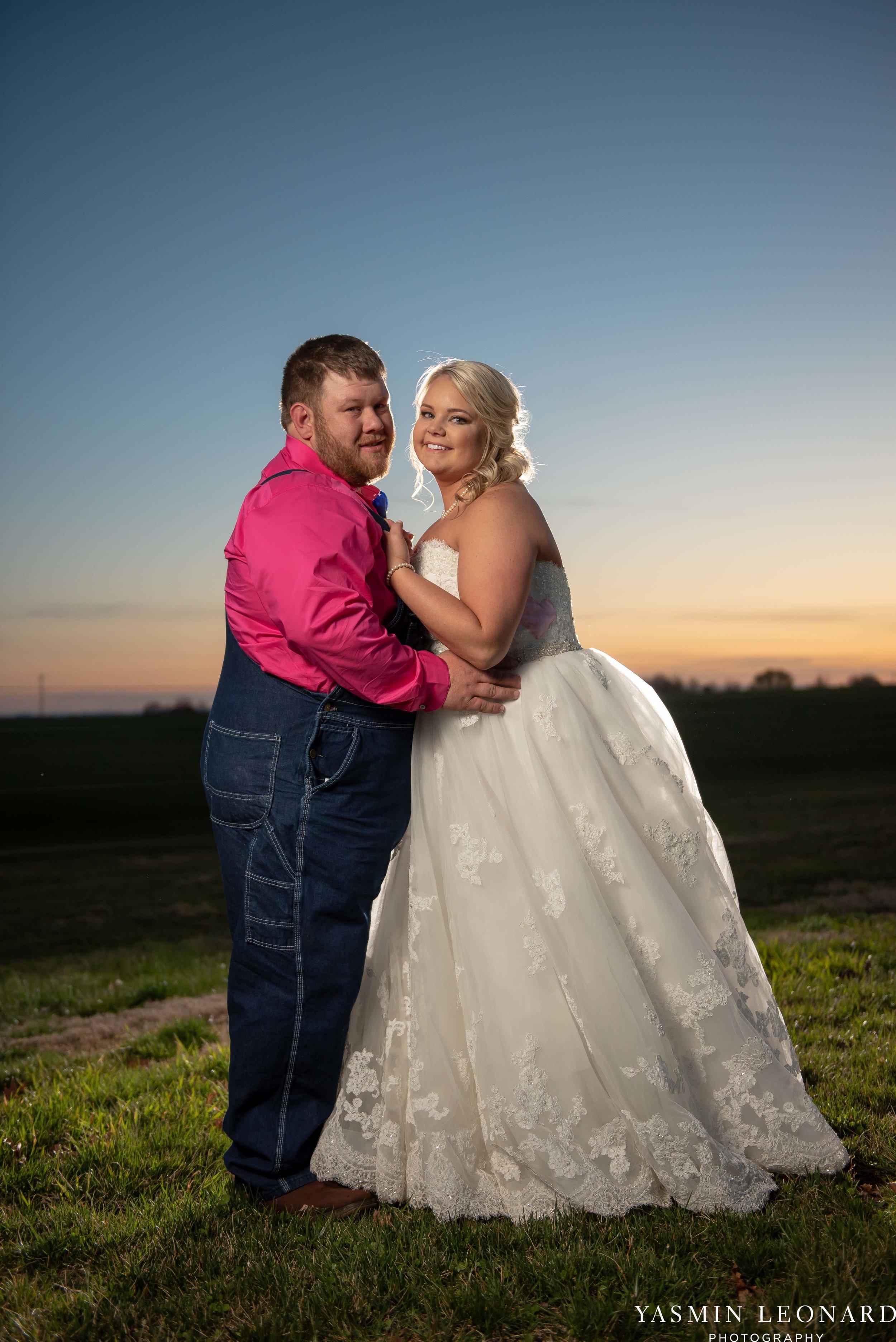 The Barn at Heritage Farm - Country Wedding - Pink and Blue Wedding - Barn Wedding - Outdoor Wedding - Cotton and Wheat Decor - Groom in Bibs - Pink Bridal Colors - Yasmin Leonard Photography-30.jpg