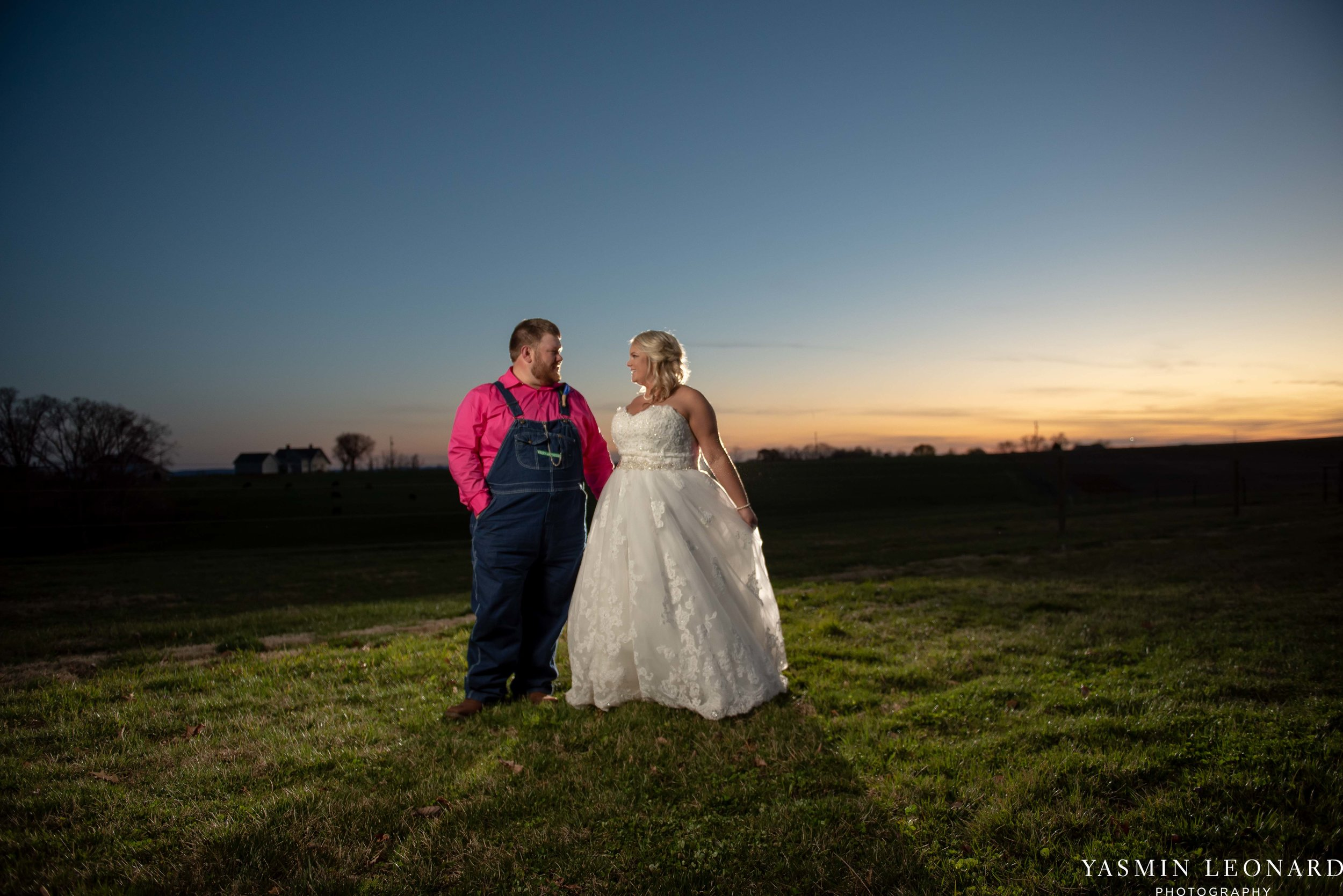 The Barn at Heritage Farm - Country Wedding - Pink and Blue Wedding - Barn Wedding - Outdoor Wedding - Cotton and Wheat Decor - Groom in Bibs - Pink Bridal Colors - Yasmin Leonard Photography-32.jpg