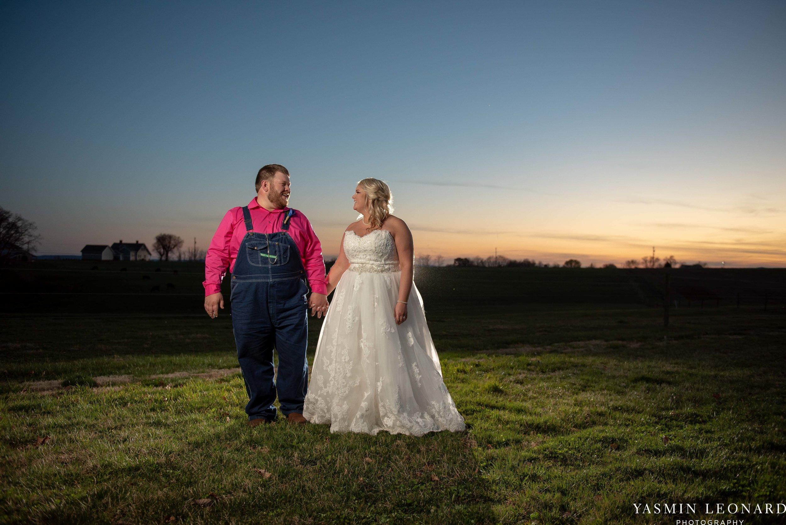 The Barn at Heritage Farm - Country Wedding - Pink and Blue Wedding - Barn Wedding - Outdoor Wedding - Cotton and Wheat Decor - Groom in Bibs - Pink Bridal Colors - Yasmin Leonard Photography-31.jpg