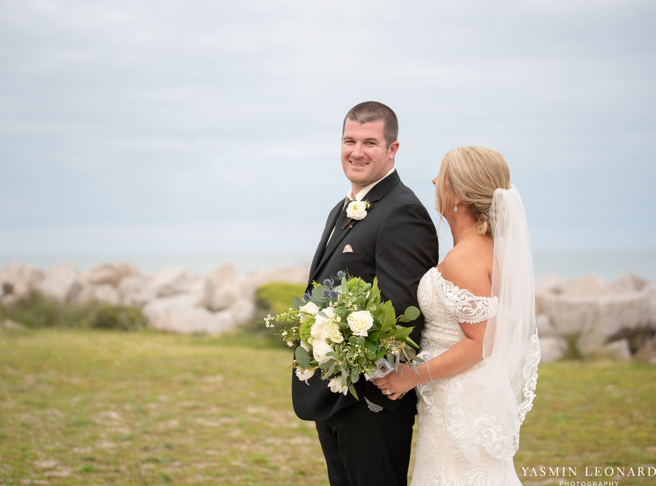 Carolina Beach Wedding - Fort Fisher Wedding - NC Acquarium - Beach Wedding - NC Wedding - Beach Wedding Inspiration - Beach Bride-32.jpg