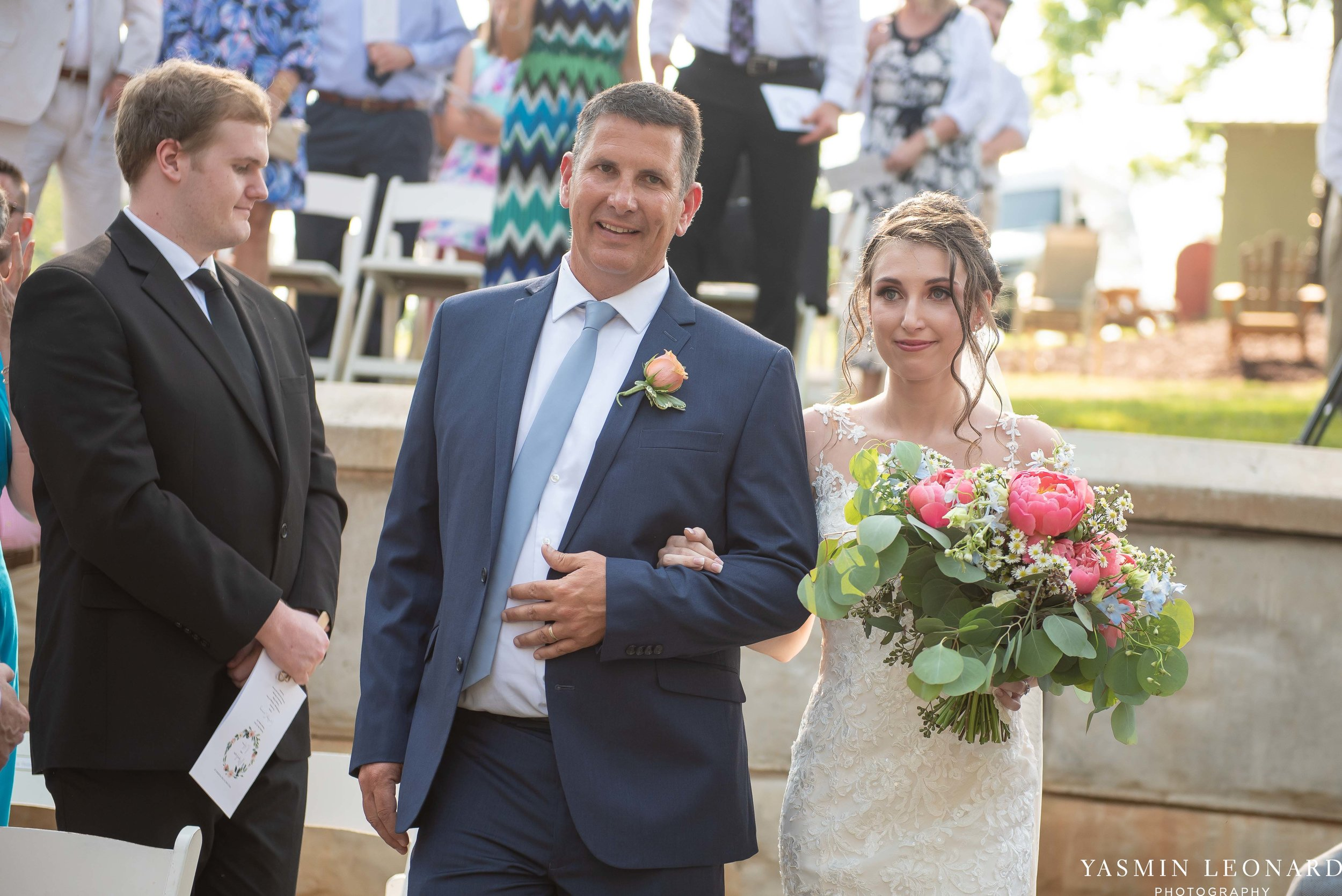 Old Homeplace Vineyard - NC Weddings - Outdoor Summer Weddings - Peony Boutique - Vineyard Wedding - NC Photographer - Yasmin Leonard Photography-26.jpg