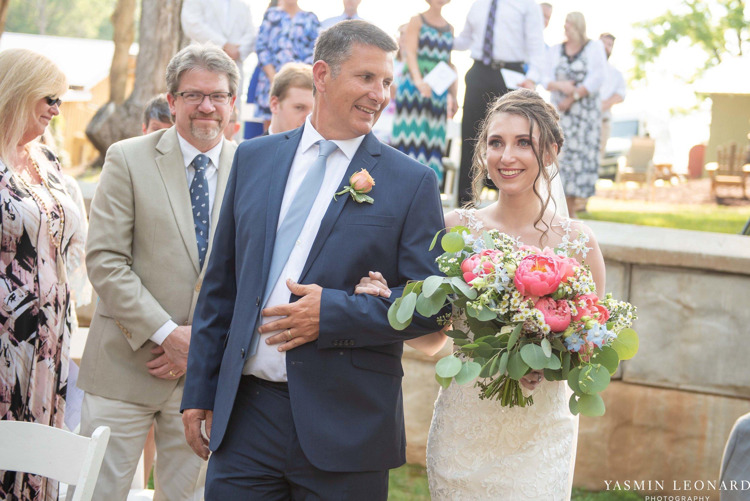 Old Homeplace Vineyard - NC Weddings - Outdoor Summer Weddings - Peony Boutique - Vineyard Wedding - NC Photographer - Yasmin Leonard Photography-28.jpg