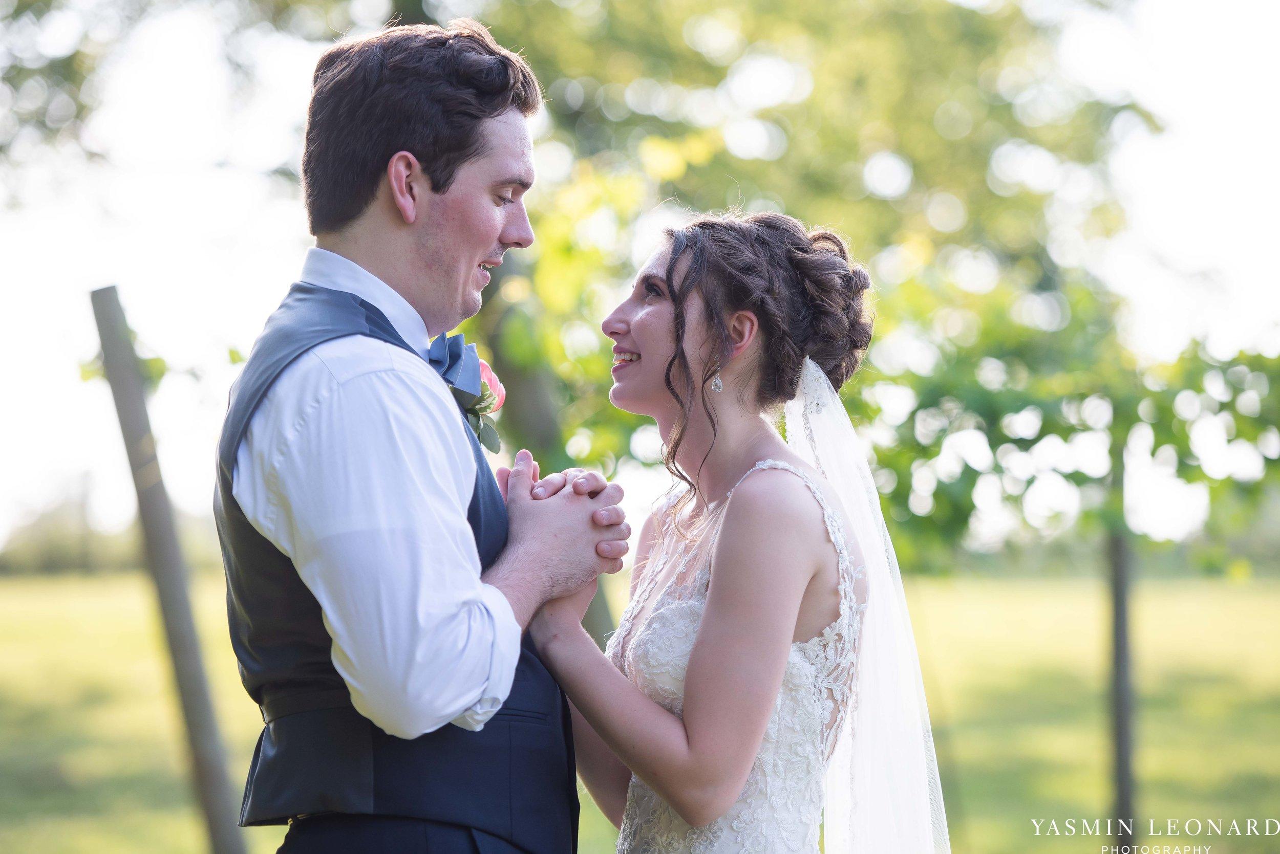 Old Homeplace Vineyard - NC Weddings - Outdoor Summer Weddings - Peony Boutique - Vineyard Wedding - NC Photographer - Yasmin Leonard Photography-46.jpg