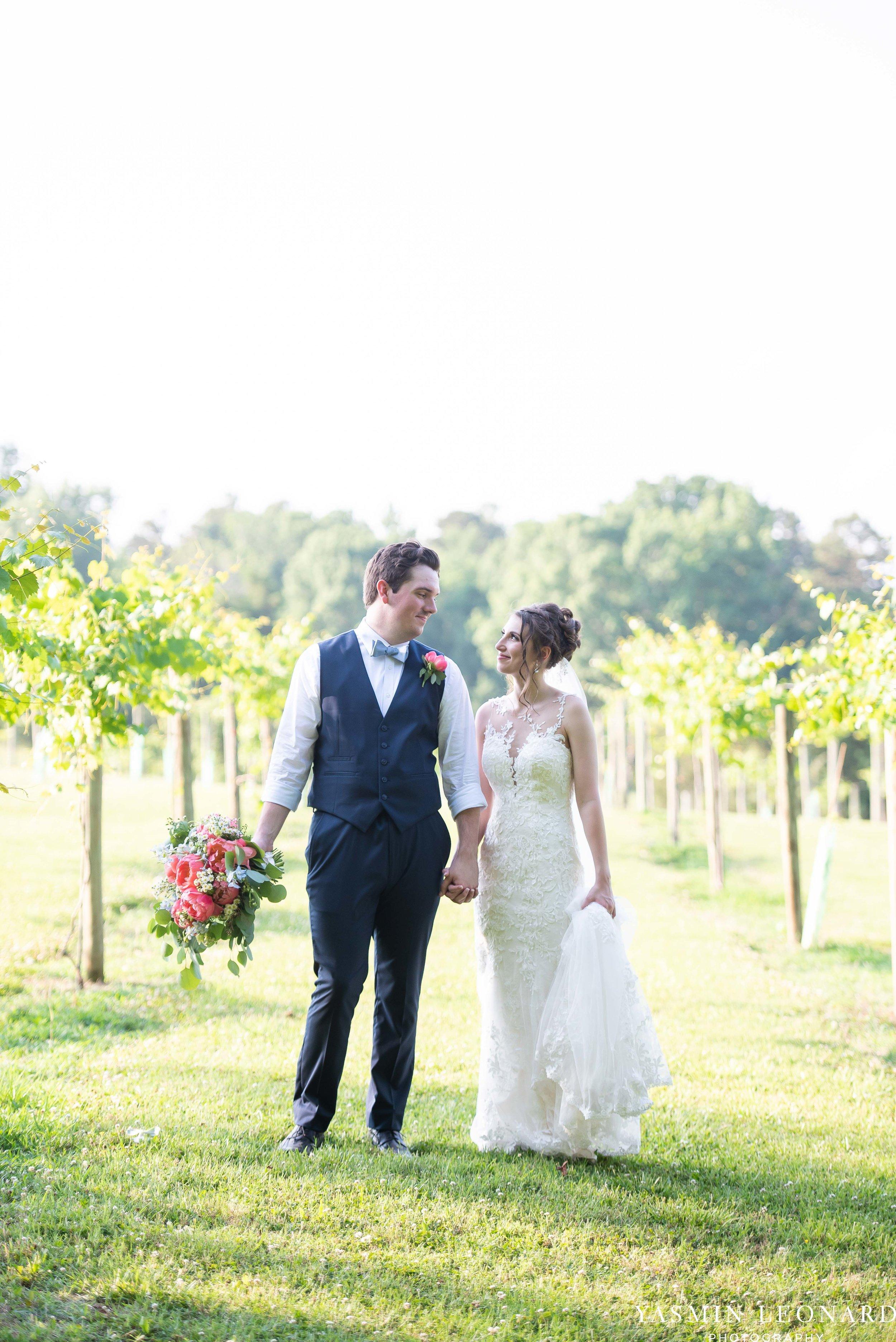 Old Homeplace Vineyard - NC Weddings - Outdoor Summer Weddings - Peony Boutique - Vineyard Wedding - NC Photographer - Yasmin Leonard Photography-45.jpg
