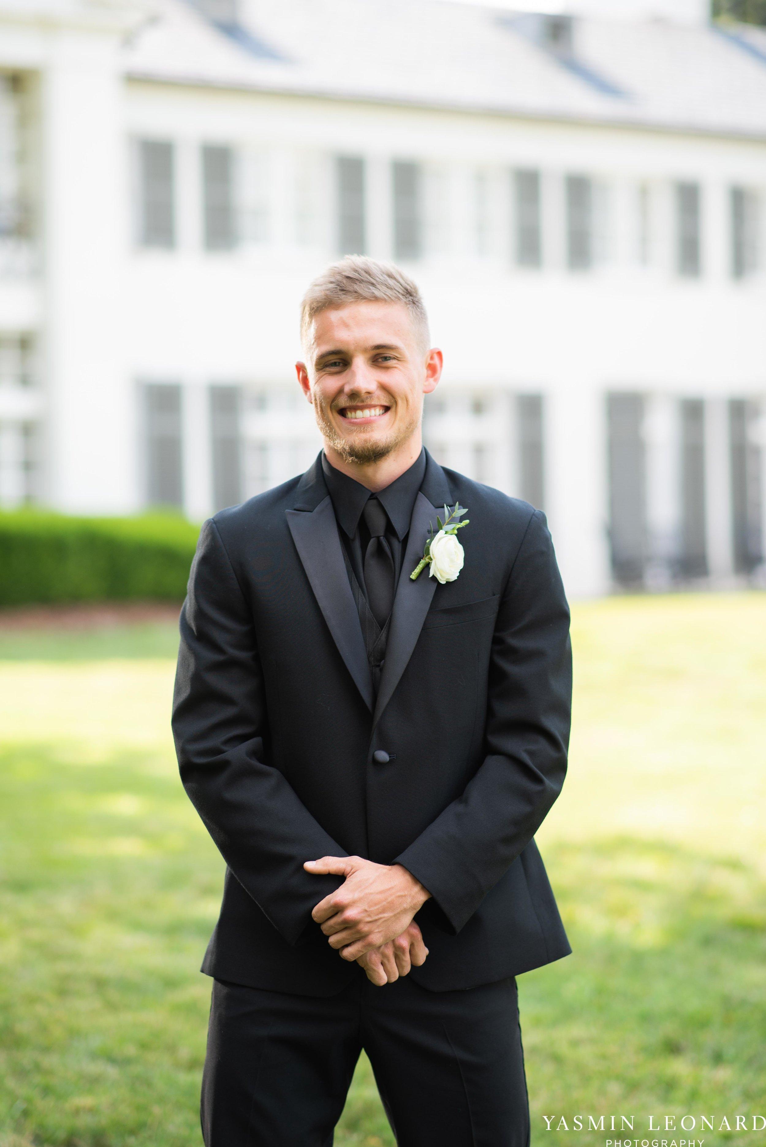 Boxwood Estate - Boxwood Estate Wedding - Luxury Wedding - Black and White Wedding - NC Wedding Venues - NC Weddings - NC Photographer - Lantern Release Grand Exit - Large Wedding Party - Yasmin Leonard Photography-13.jpg