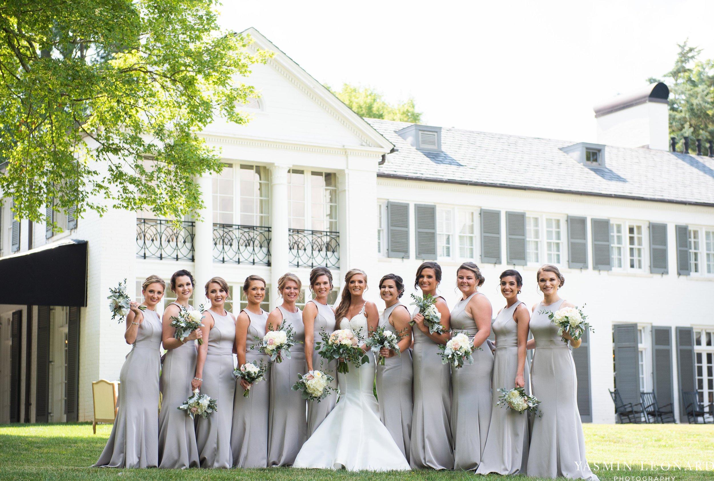 Boxwood Estate - Boxwood Estate Wedding - Luxury Wedding - Black and White Wedding - NC Wedding Venues - NC Weddings - NC Photographer - Lantern Release Grand Exit - Large Wedding Party - Yasmin Leonard Photography-18.jpg