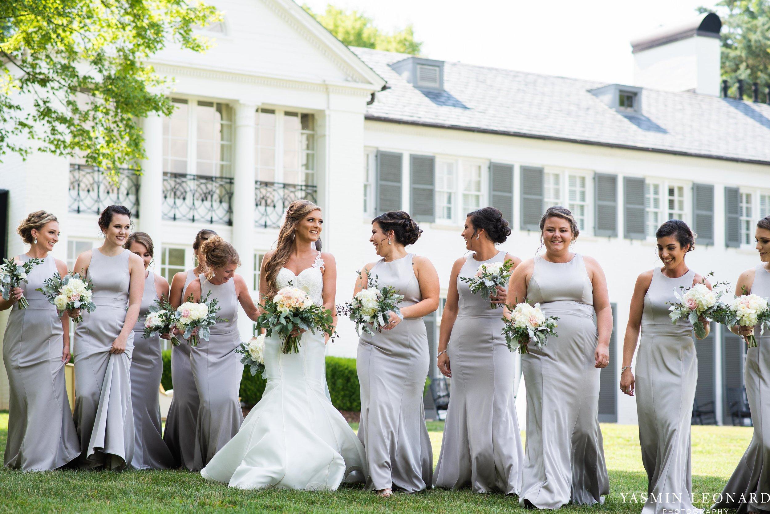 Boxwood Estate - Boxwood Estate Wedding - Luxury Wedding - Black and White Wedding - NC Wedding Venues - NC Weddings - NC Photographer - Lantern Release Grand Exit - Large Wedding Party - Yasmin Leonard Photography-20.jpg