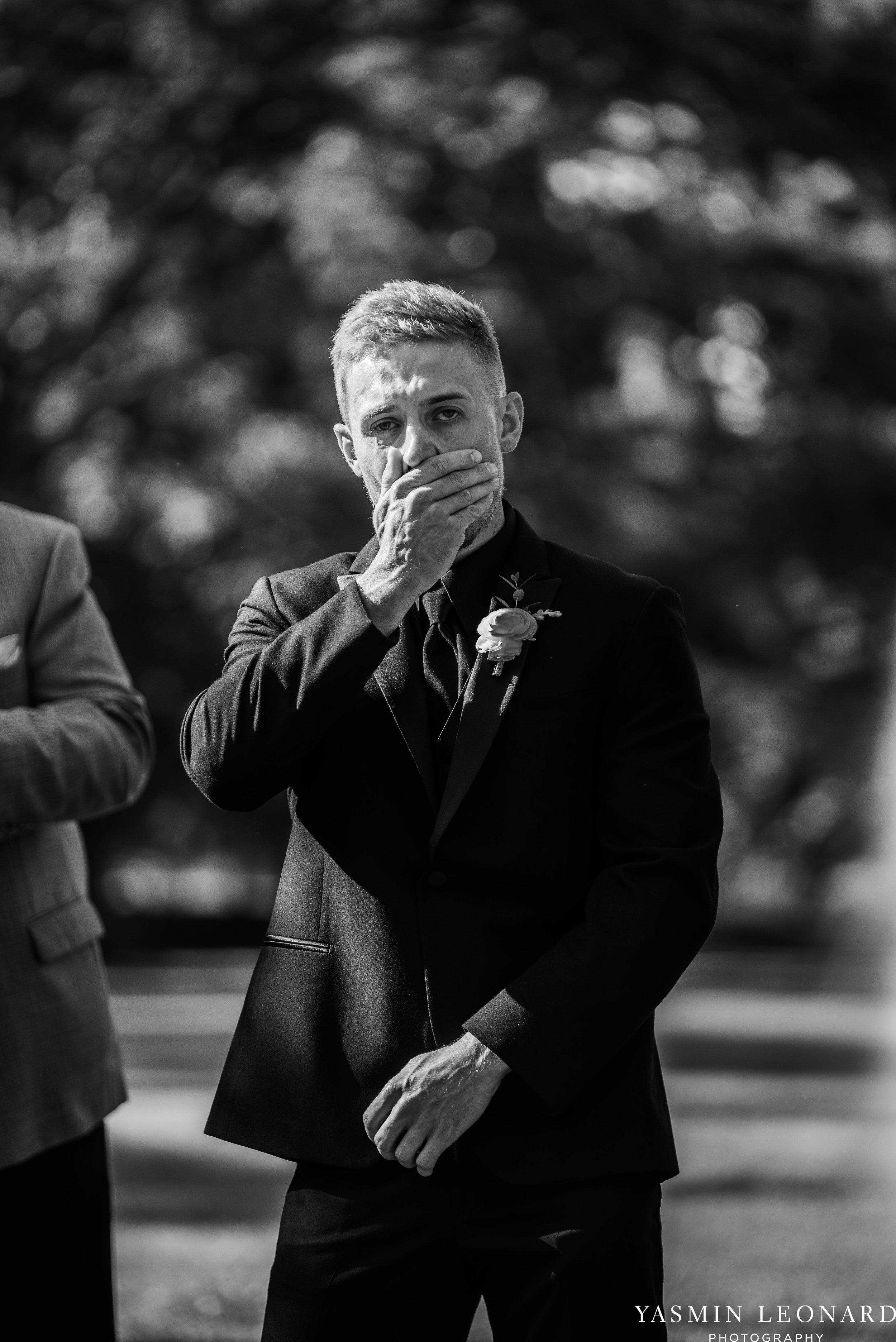 Boxwood Estate - Boxwood Estate Wedding - Luxury Wedding - Black and White Wedding - NC Wedding Venues - NC Weddings - NC Photographer - Lantern Release Grand Exit - Large Wedding Party - Yasmin Leonard Photography-25.jpg