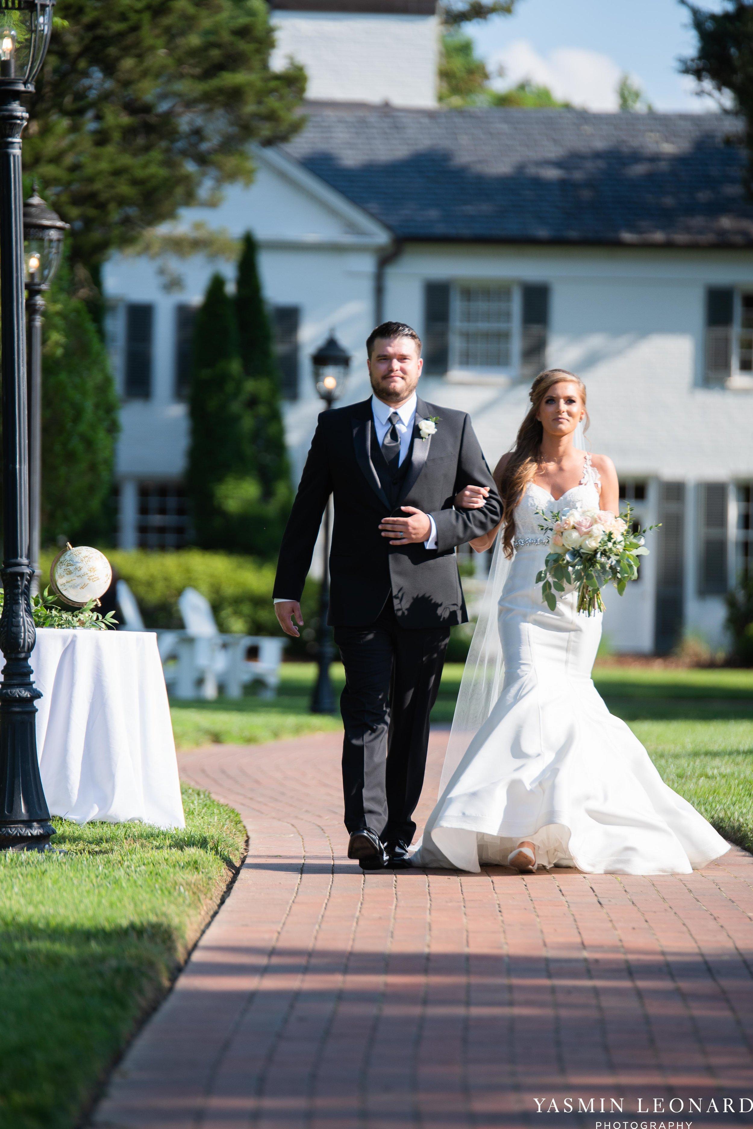 Boxwood Estate - Boxwood Estate Wedding - Luxury Wedding - Black and White Wedding - NC Wedding Venues - NC Weddings - NC Photographer - Lantern Release Grand Exit - Large Wedding Party - Yasmin Leonard Photography-27.jpg