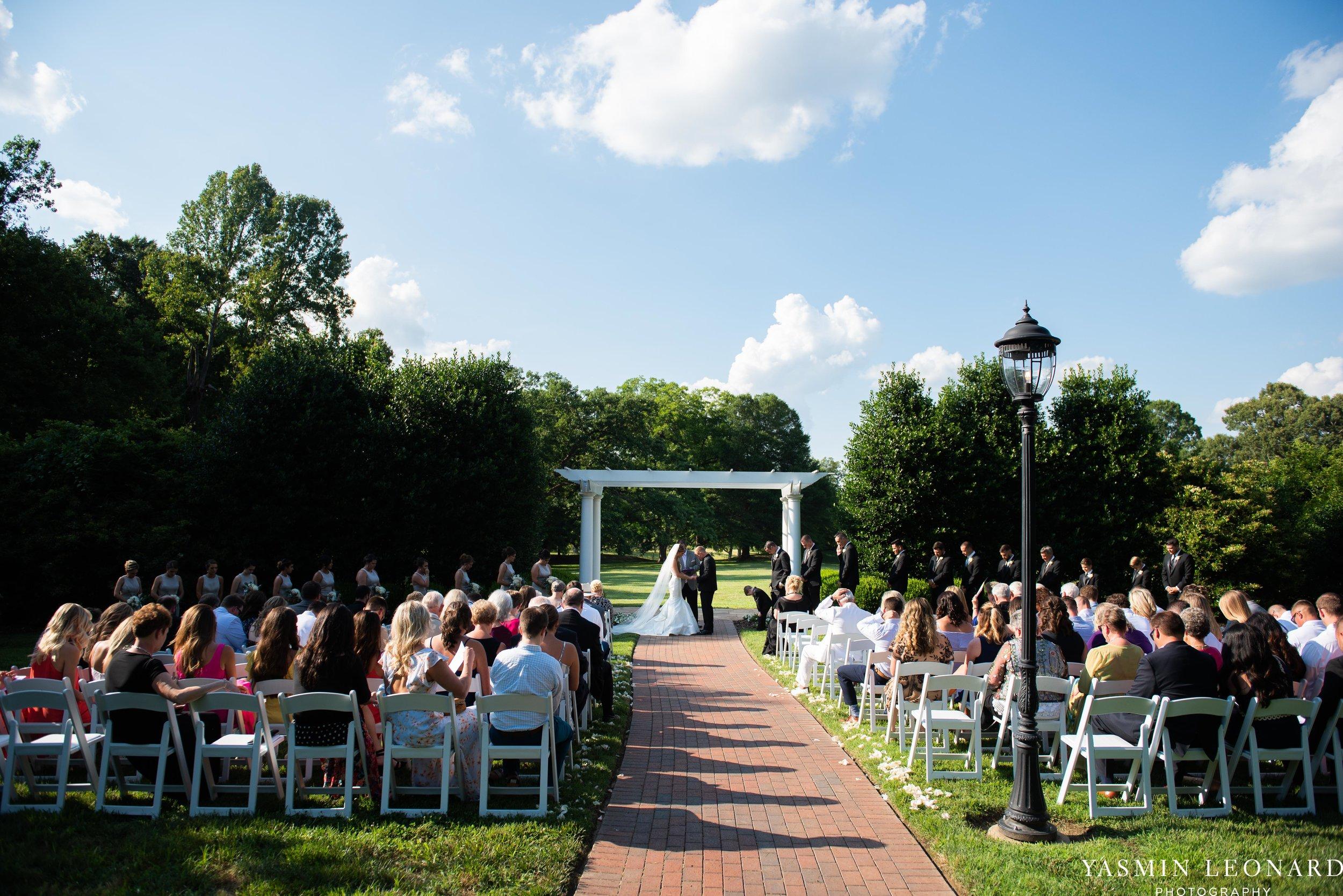 Boxwood Estate - Boxwood Estate Wedding - Luxury Wedding - Black and White Wedding - NC Wedding Venues - NC Weddings - NC Photographer - Lantern Release Grand Exit - Large Wedding Party - Yasmin Leonard Photography-29.jpg