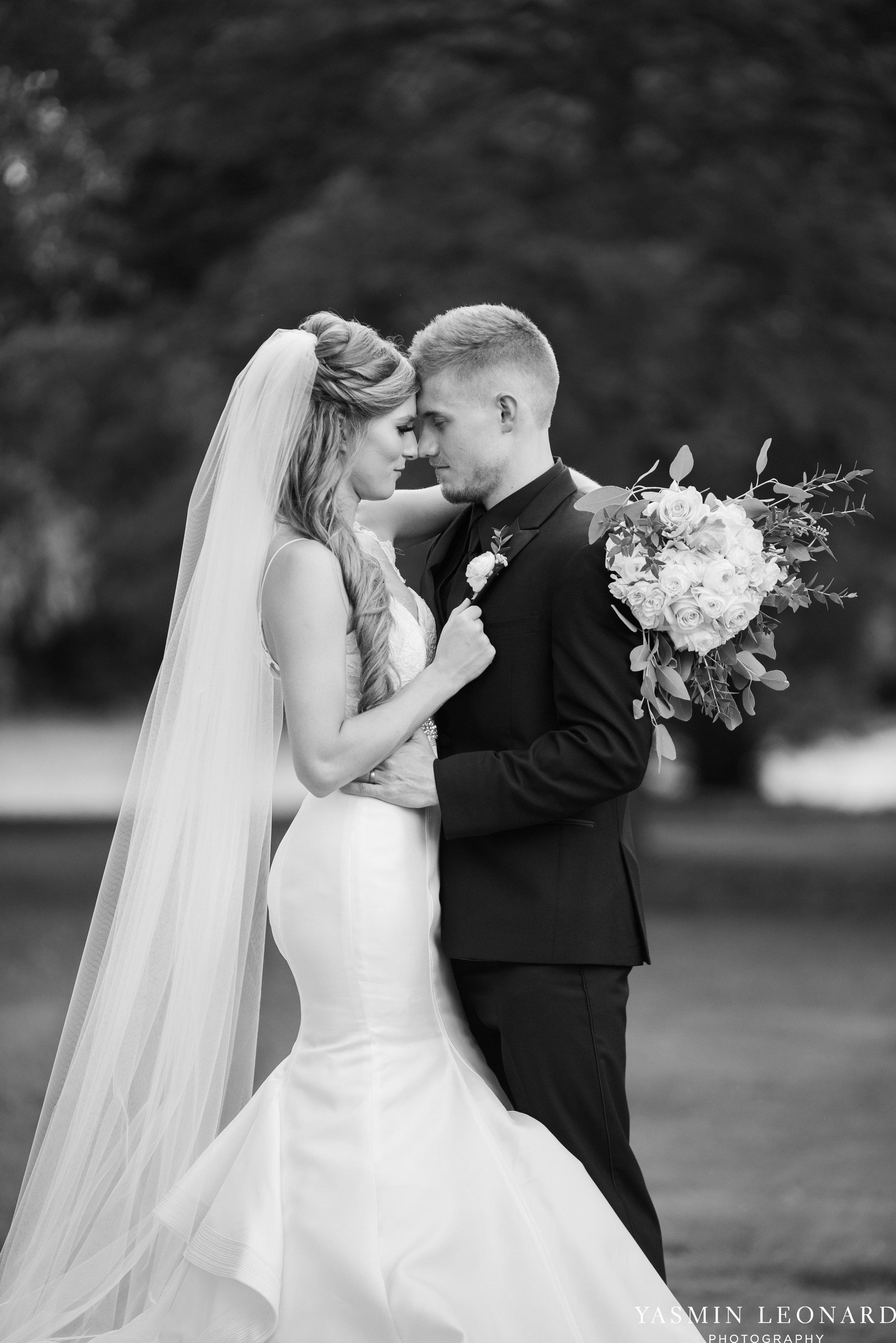 Boxwood Estate - Boxwood Estate Wedding - Luxury Wedding - Black and White Wedding - NC Wedding Venues - NC Weddings - NC Photographer - Lantern Release Grand Exit - Large Wedding Party - Yasmin Leonard Photography-40.jpg