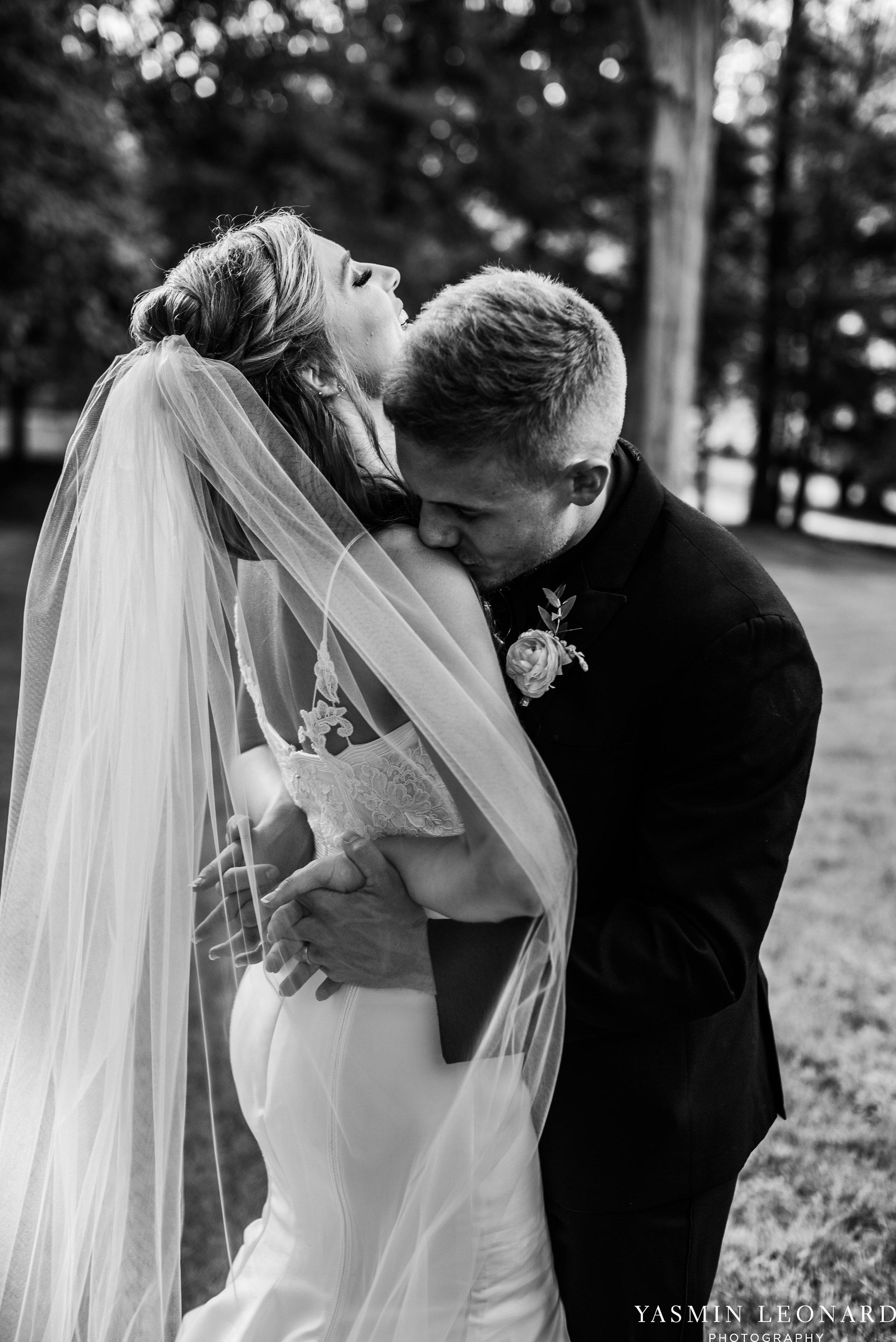 Boxwood Estate - Boxwood Estate Wedding - Luxury Wedding - Black and White Wedding - NC Wedding Venues - NC Weddings - NC Photographer - Lantern Release Grand Exit - Large Wedding Party - Yasmin Leonard Photography-43.jpg