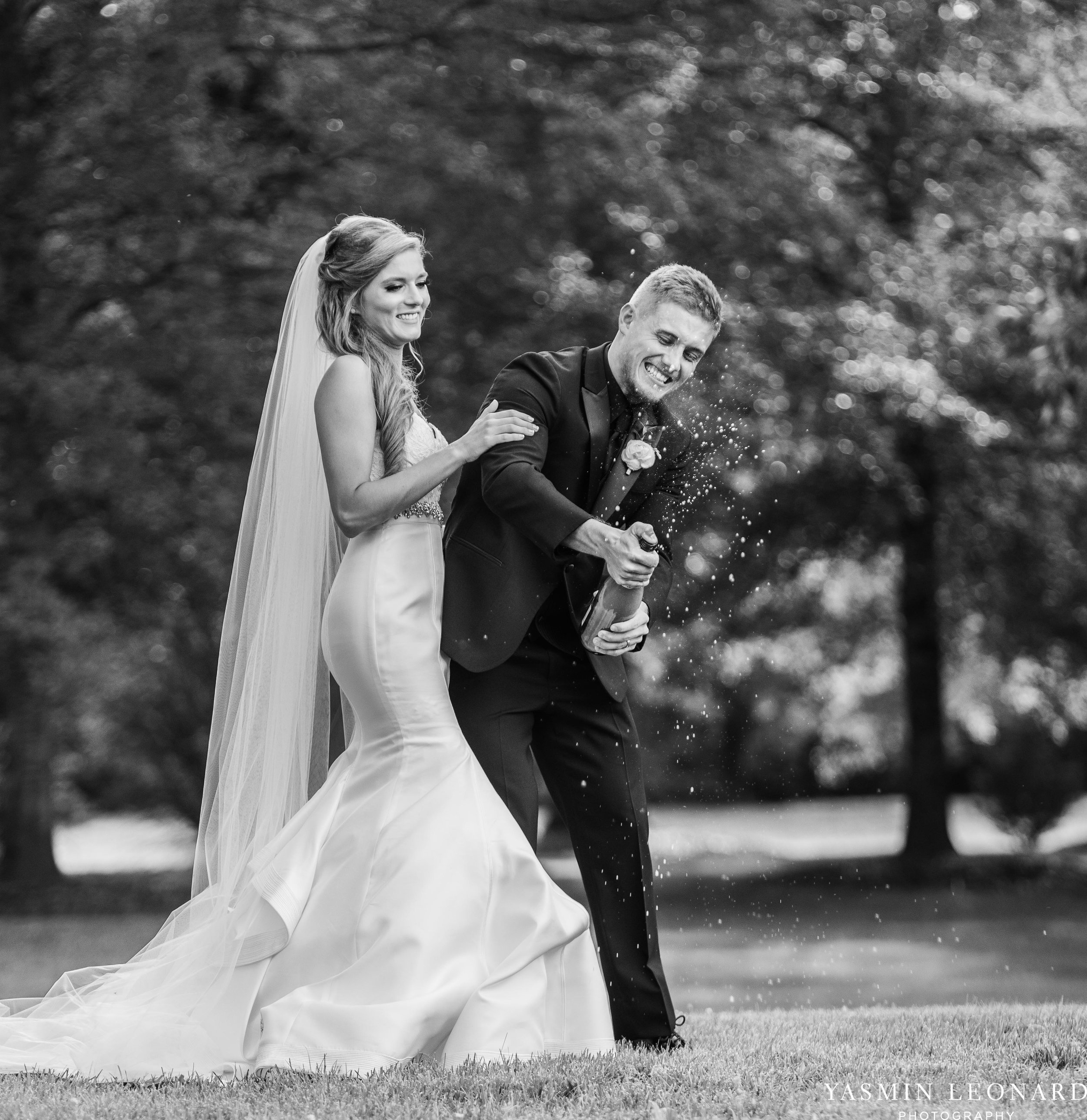 Boxwood Estate - Boxwood Estate Wedding - Luxury Wedding - Black and White Wedding - NC Wedding Venues - NC Weddings - NC Photographer - Lantern Release Grand Exit - Large Wedding Party - Yasmin Leonard Photography-47.jpg