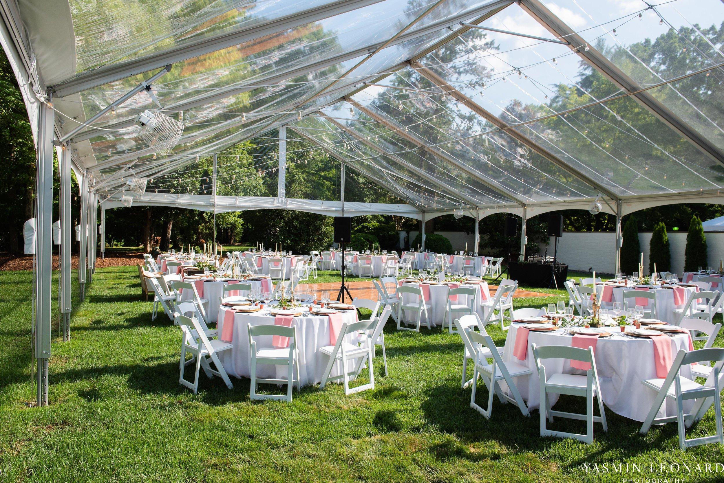 Boxwood Estate - Boxwood Estate Wedding - Luxury Wedding - Black and White Wedding - NC Wedding Venues - NC Weddings - NC Photographer - Lantern Release Grand Exit - Large Wedding Party - Yasmin Leonard Photography-49.jpg
