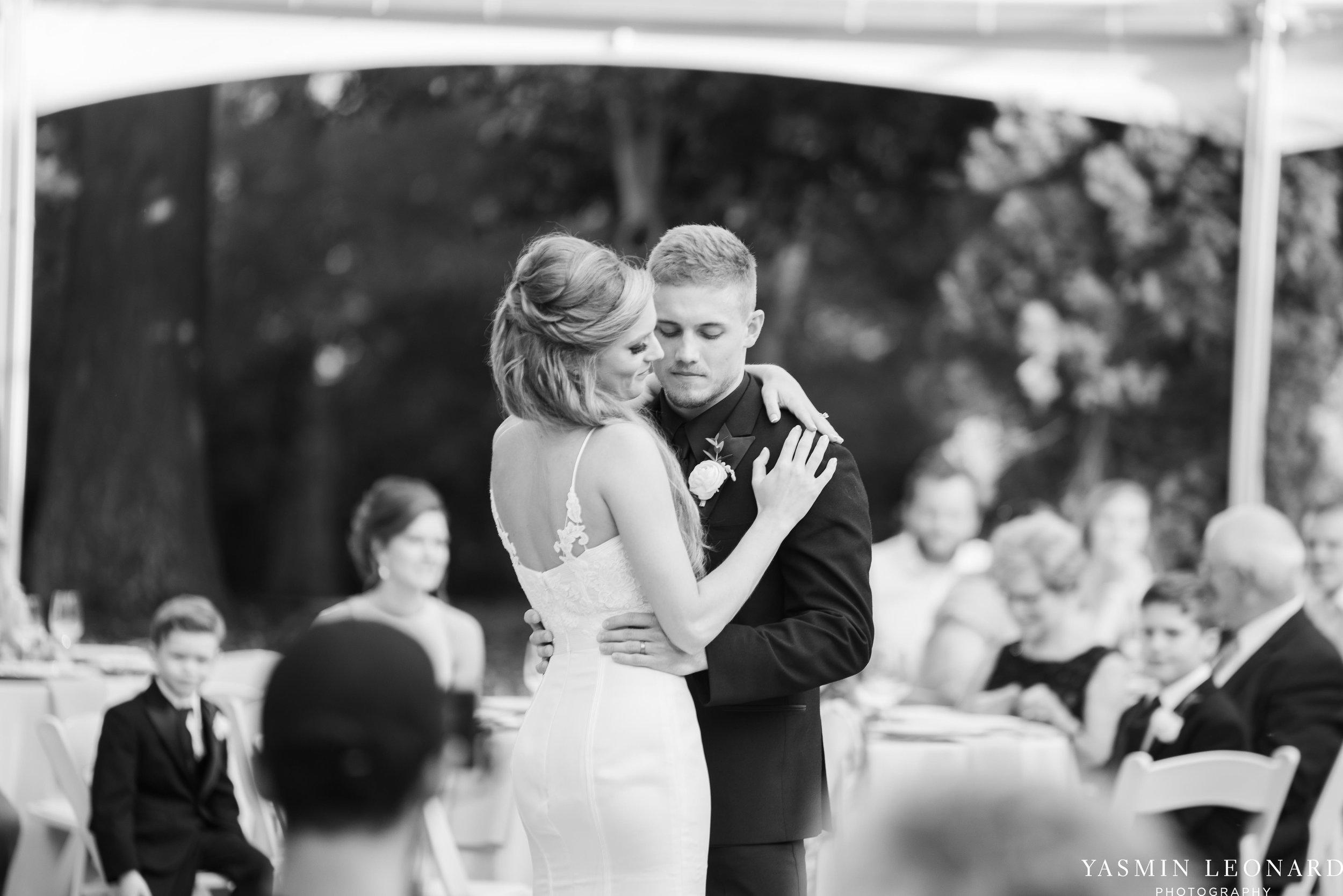 Boxwood Estate - Boxwood Estate Wedding - Luxury Wedding - Black and White Wedding - NC Wedding Venues - NC Weddings - NC Photographer - Lantern Release Grand Exit - Large Wedding Party - Yasmin Leonard Photography-55.jpg