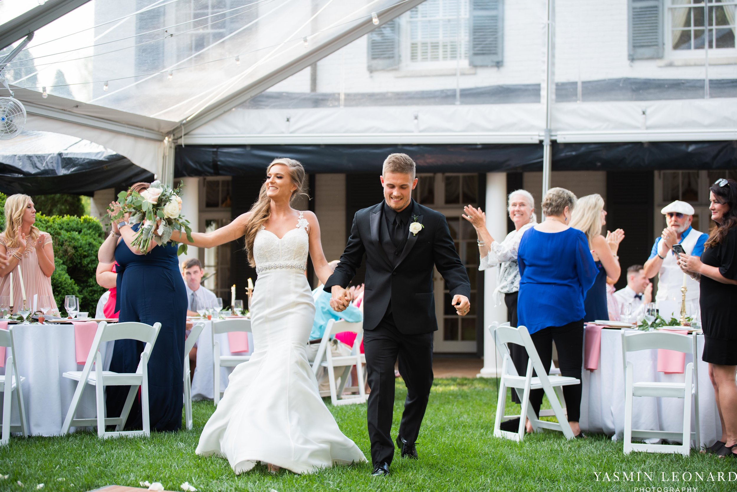 Boxwood Estate - Boxwood Estate Wedding - Luxury Wedding - Black and White Wedding - NC Wedding Venues - NC Weddings - NC Photographer - Lantern Release Grand Exit - Large Wedding Party - Yasmin Leonard Photography-54.jpg