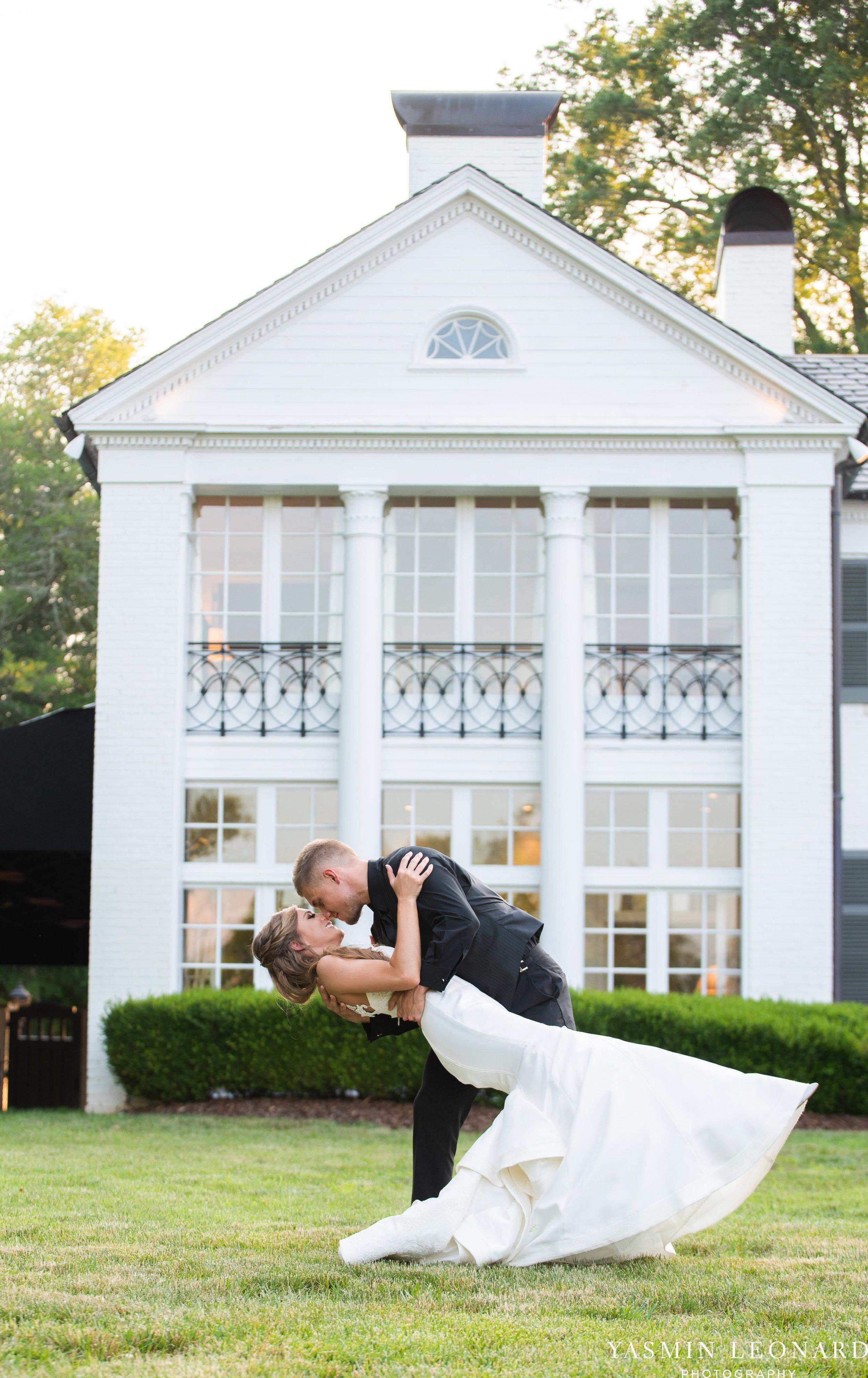 Boxwood Estate - Boxwood Estate Wedding - Luxury Wedding - Black and White Wedding - NC Wedding Venues - NC Weddings - NC Photographer - Lantern Release Grand Exit - Large Wedding Party - Yasmin Leonard Photography-57.jpg