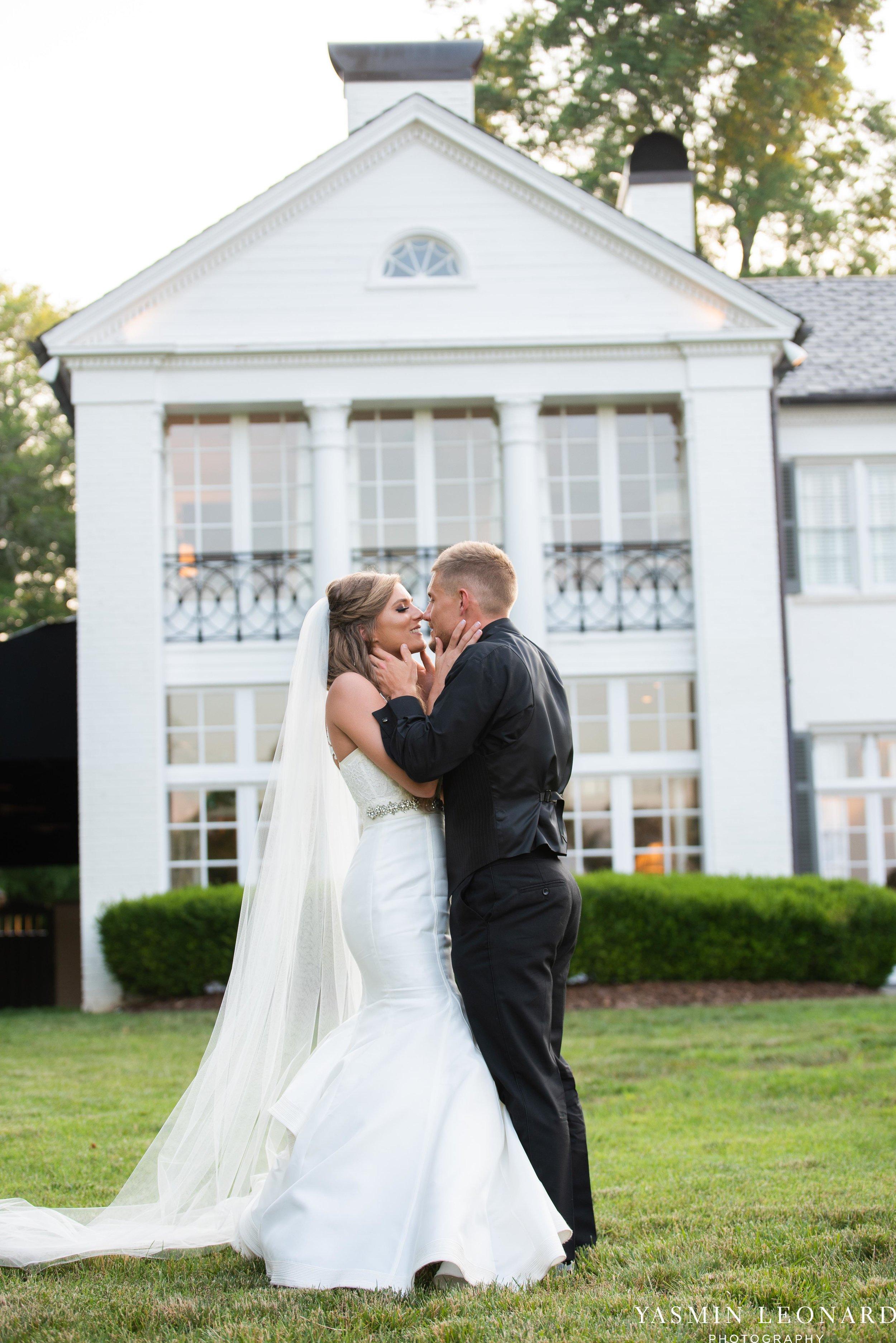 Boxwood Estate - Boxwood Estate Wedding - Luxury Wedding - Black and White Wedding - NC Wedding Venues - NC Weddings - NC Photographer - Lantern Release Grand Exit - Large Wedding Party - Yasmin Leonard Photography-62.jpg