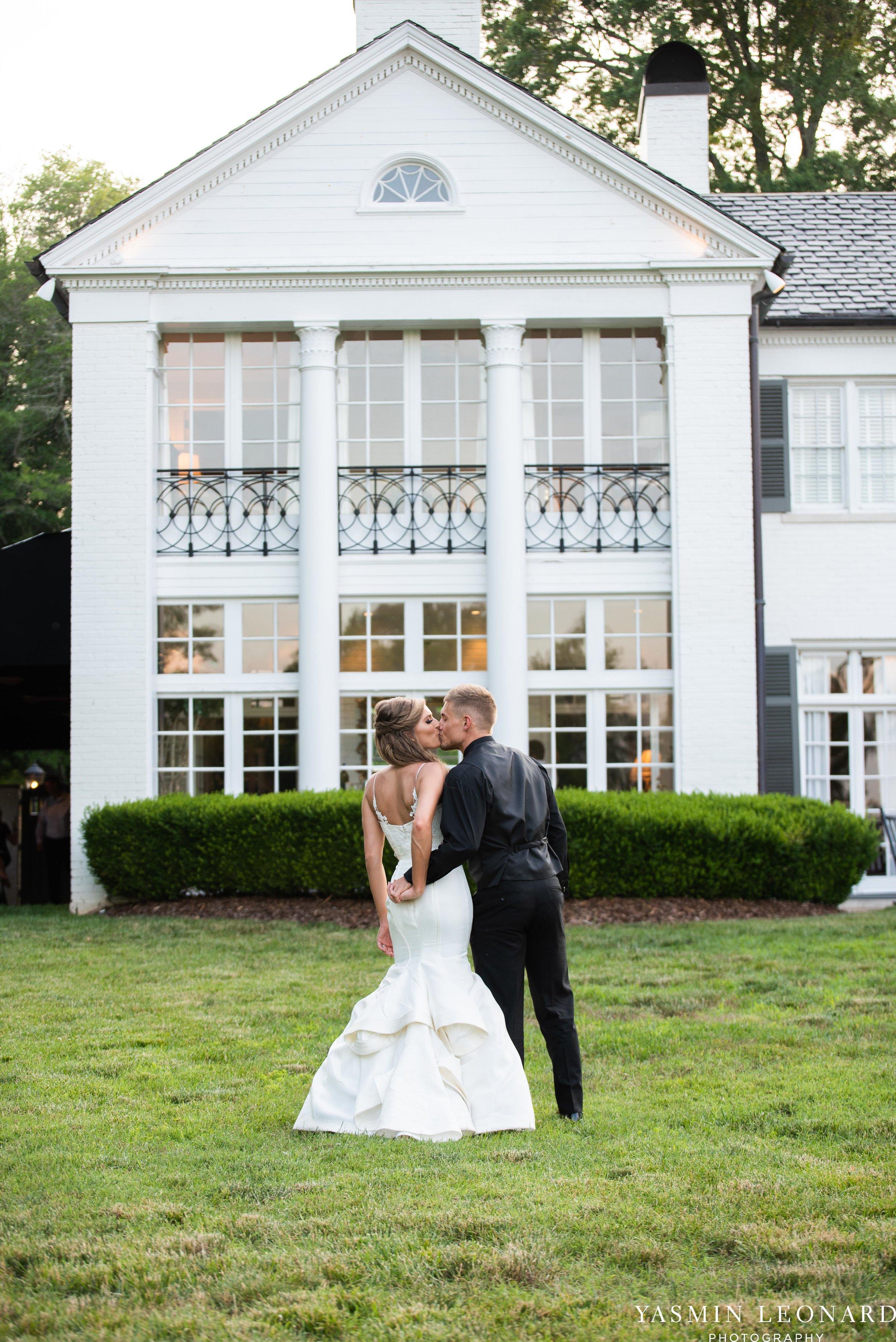 Boxwood Estate - Boxwood Estate Wedding - Luxury Wedding - Black and White Wedding - NC Wedding Venues - NC Weddings - NC Photographer - Lantern Release Grand Exit - Large Wedding Party - Yasmin Leonard Photography-63.jpg