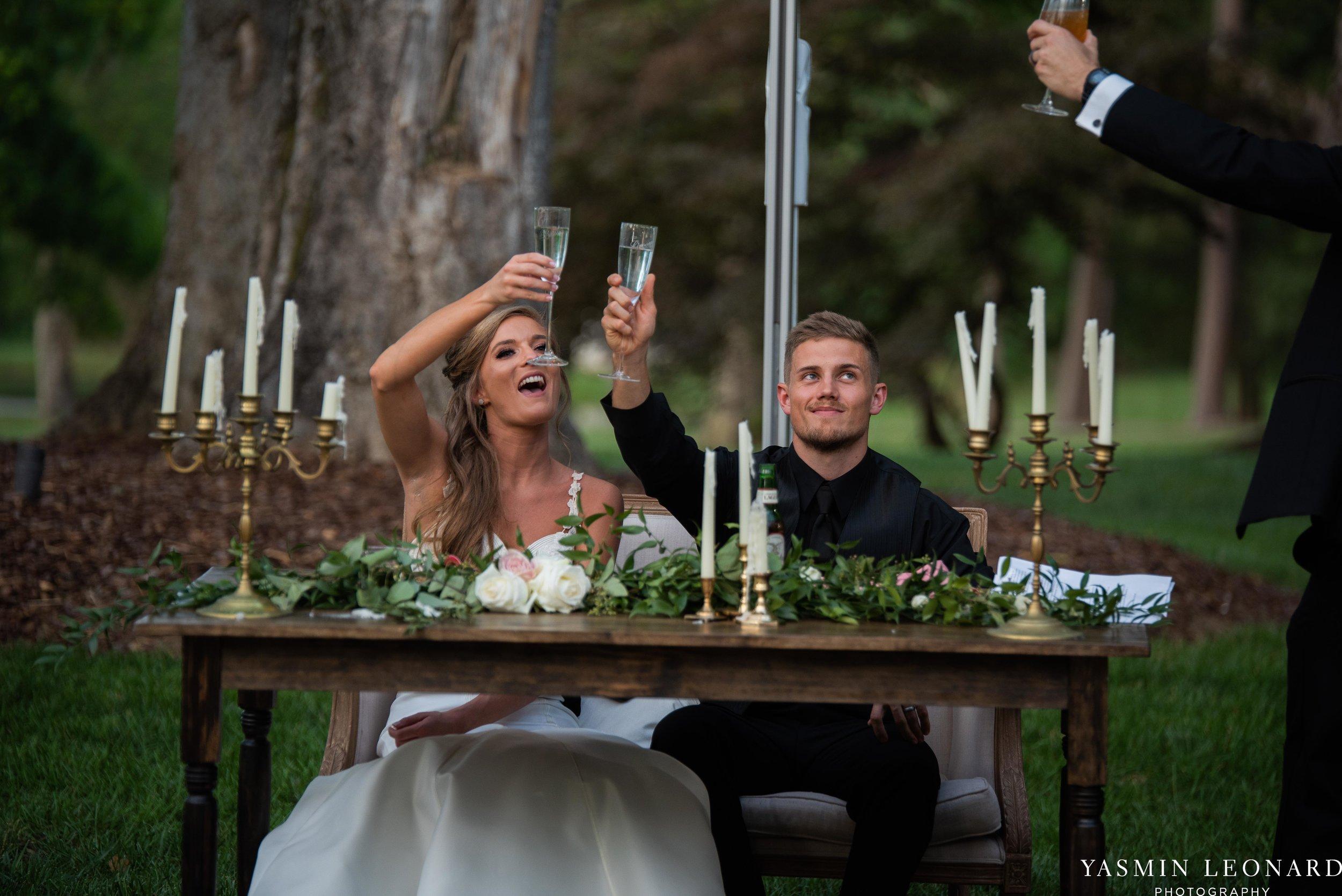 Boxwood Estate - Boxwood Estate Wedding - Luxury Wedding - Black and White Wedding - NC Wedding Venues - NC Weddings - NC Photographer - Lantern Release Grand Exit - Large Wedding Party - Yasmin Leonard Photography-66.jpg