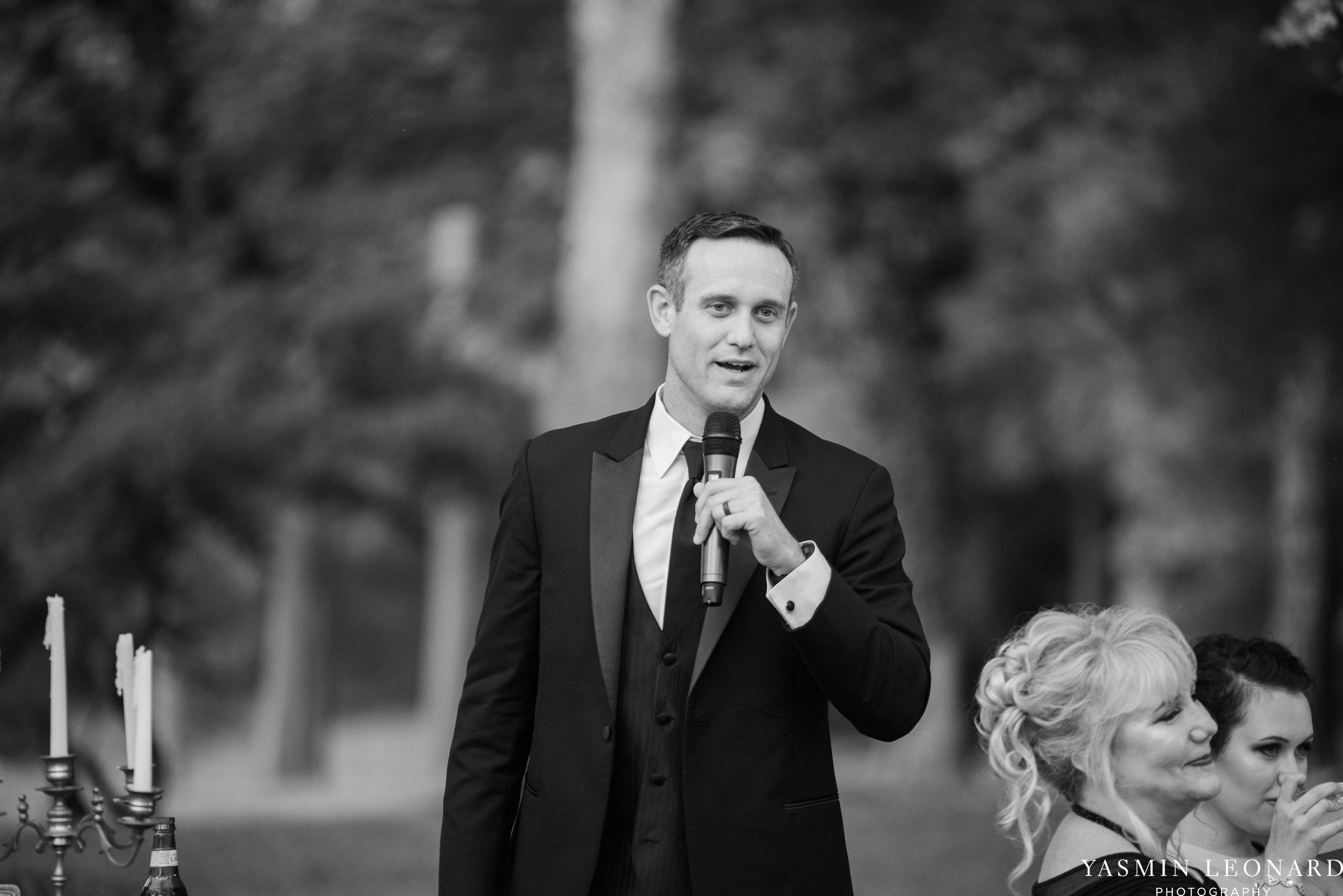 Boxwood Estate - Boxwood Estate Wedding - Luxury Wedding - Black and White Wedding - NC Wedding Venues - NC Weddings - NC Photographer - Lantern Release Grand Exit - Large Wedding Party - Yasmin Leonard Photography-65.jpg