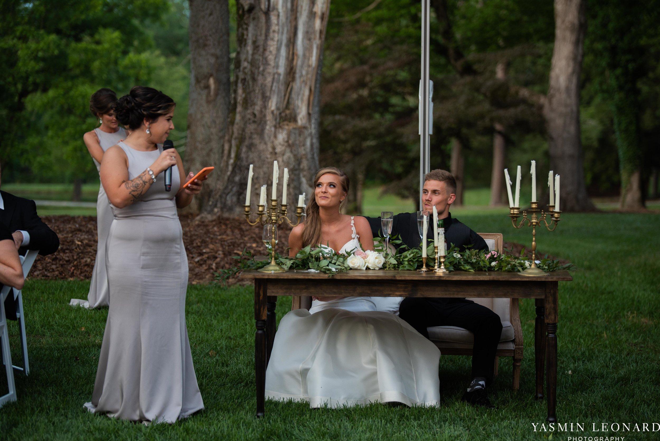 Boxwood Estate - Boxwood Estate Wedding - Luxury Wedding - Black and White Wedding - NC Wedding Venues - NC Weddings - NC Photographer - Lantern Release Grand Exit - Large Wedding Party - Yasmin Leonard Photography-67.jpg