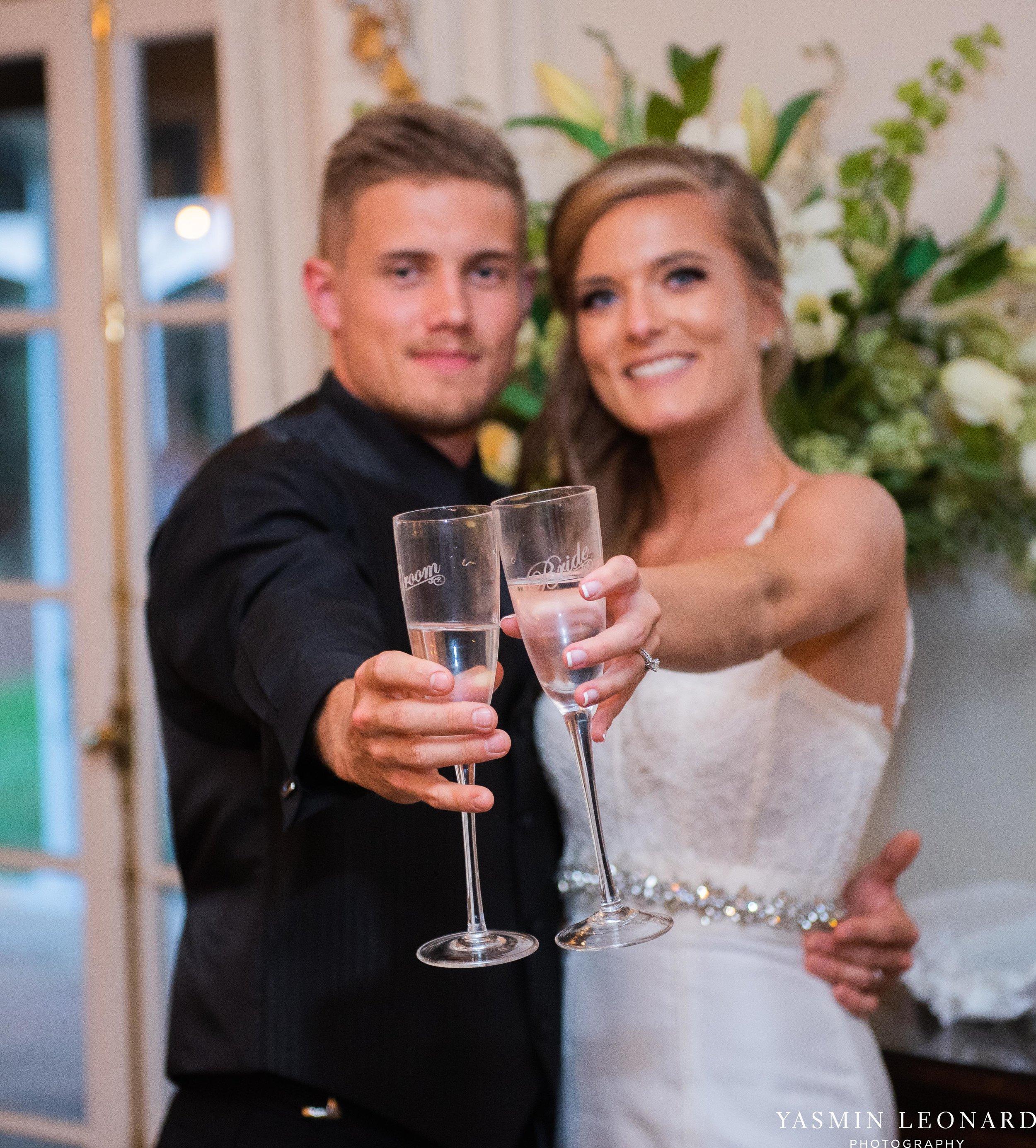 Boxwood Estate - Boxwood Estate Wedding - Luxury Wedding - Black and White Wedding - NC Wedding Venues - NC Weddings - NC Photographer - Lantern Release Grand Exit - Large Wedding Party - Yasmin Leonard Photography-70.jpg