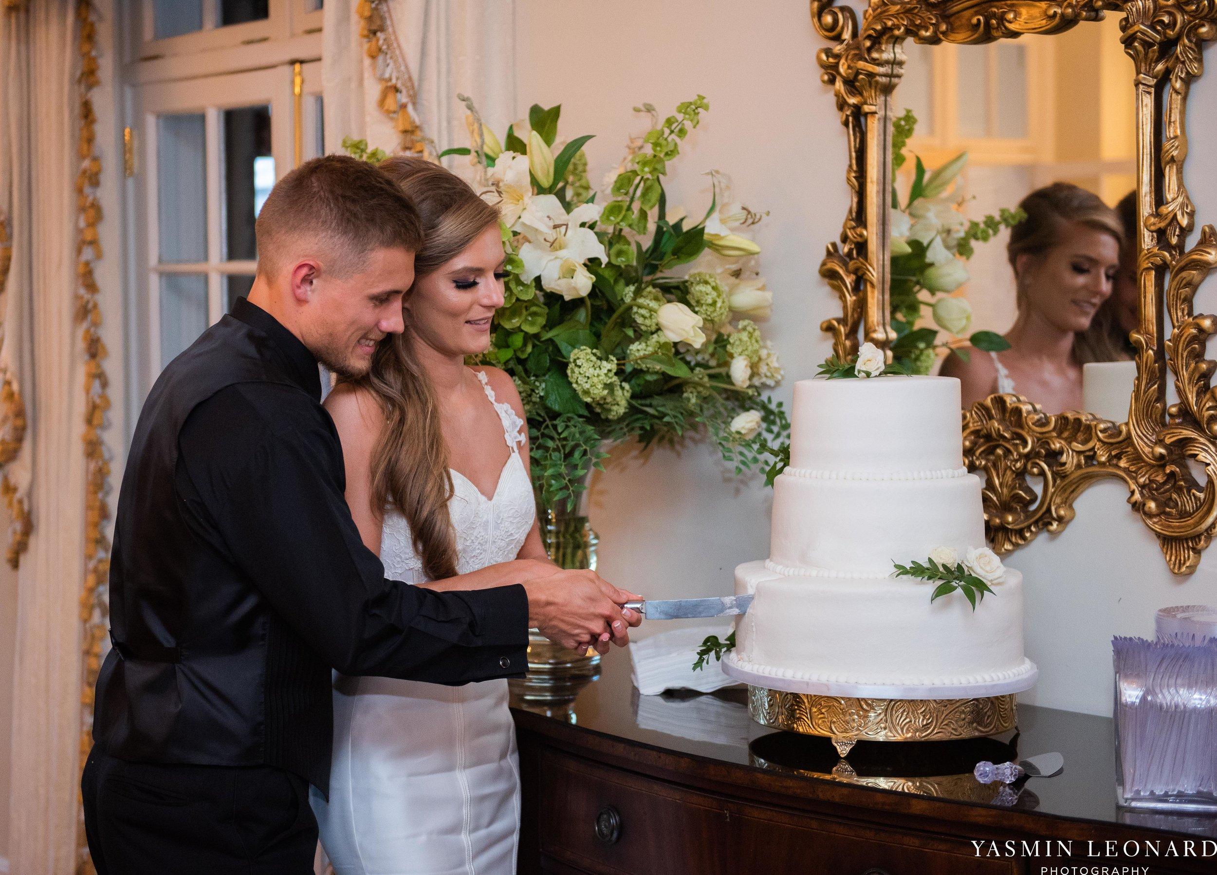 Boxwood Estate - Boxwood Estate Wedding - Luxury Wedding - Black and White Wedding - NC Wedding Venues - NC Weddings - NC Photographer - Lantern Release Grand Exit - Large Wedding Party - Yasmin Leonard Photography-69.jpg