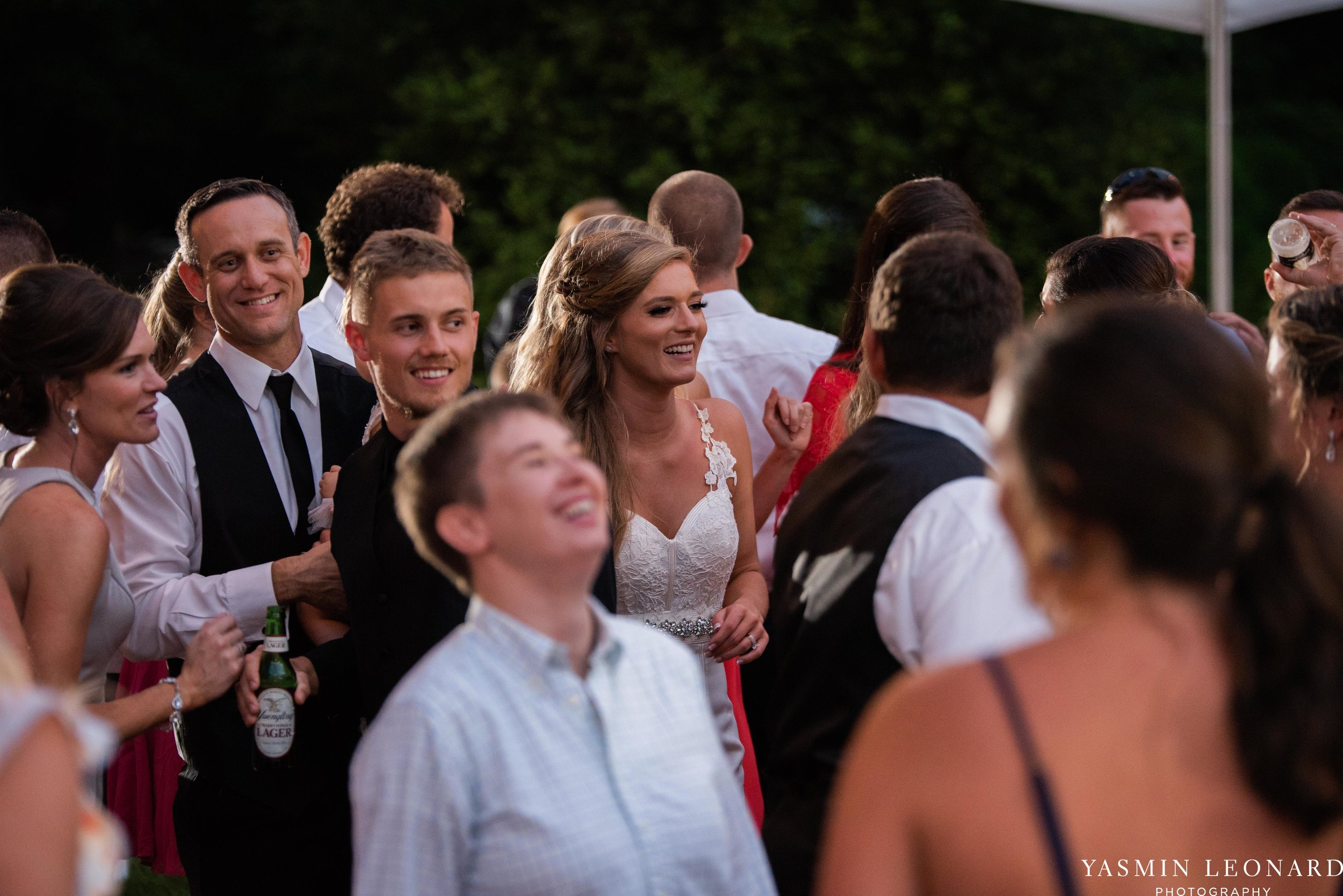 Boxwood Estate - Boxwood Estate Wedding - Luxury Wedding - Black and White Wedding - NC Wedding Venues - NC Weddings - NC Photographer - Lantern Release Grand Exit - Large Wedding Party - Yasmin Leonard Photography-71.jpg