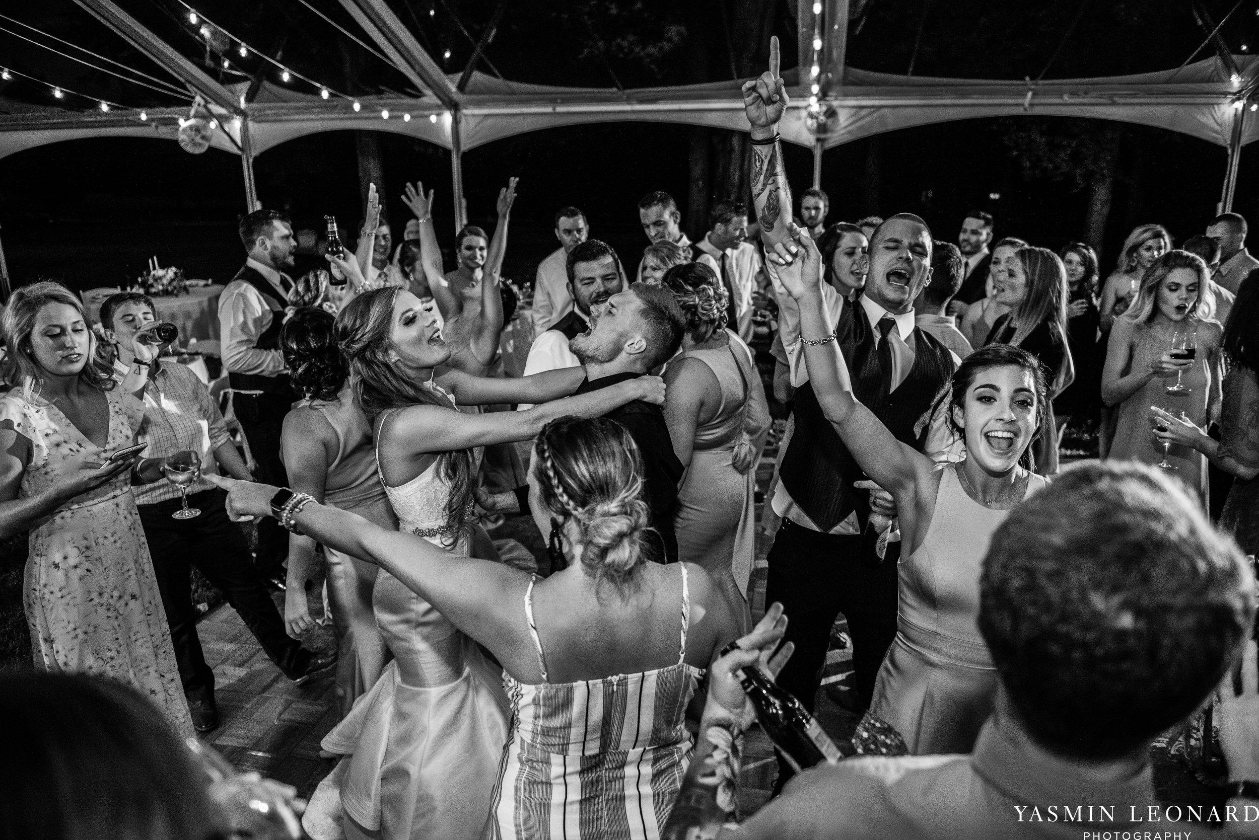 Boxwood Estate - Boxwood Estate Wedding - Luxury Wedding - Black and White Wedding - NC Wedding Venues - NC Weddings - NC Photographer - Lantern Release Grand Exit - Large Wedding Party - Yasmin Leonard Photography-75.jpg