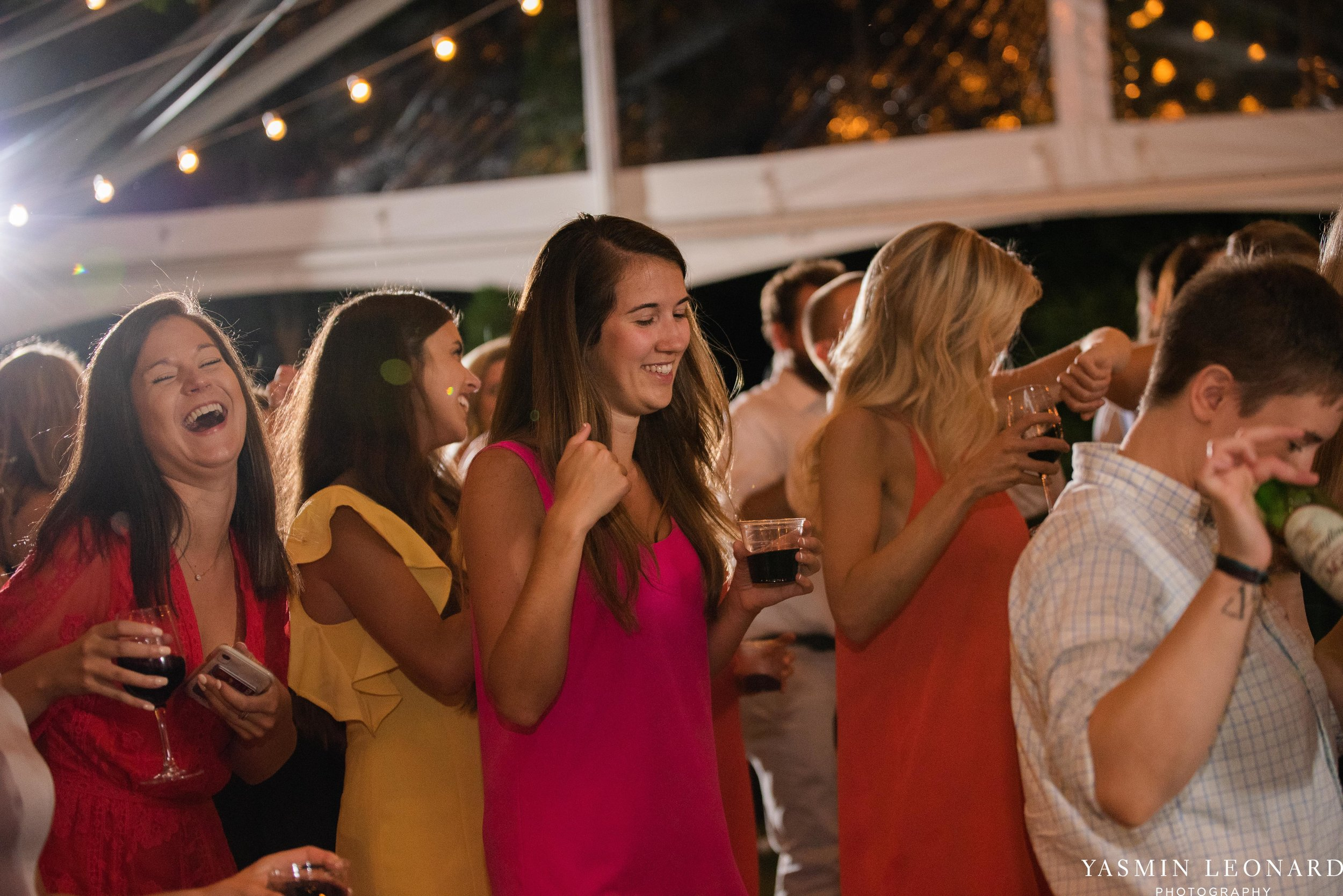 Boxwood Estate - Boxwood Estate Wedding - Luxury Wedding - Black and White Wedding - NC Wedding Venues - NC Weddings - NC Photographer - Lantern Release Grand Exit - Large Wedding Party - Yasmin Leonard Photography-76.jpg