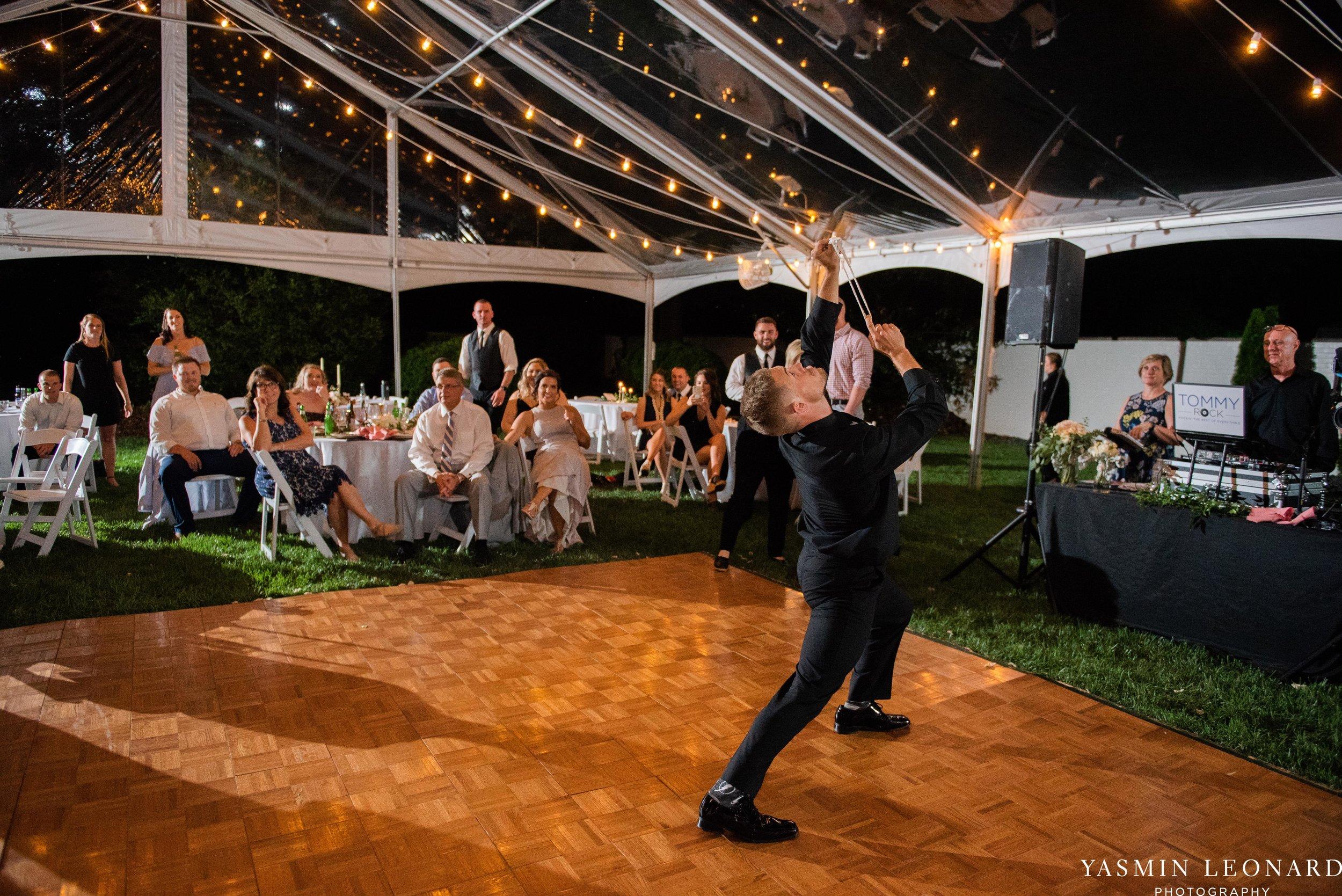 Boxwood Estate - Boxwood Estate Wedding - Luxury Wedding - Black and White Wedding - NC Wedding Venues - NC Weddings - NC Photographer - Lantern Release Grand Exit - Large Wedding Party - Yasmin Leonard Photography-81.jpg