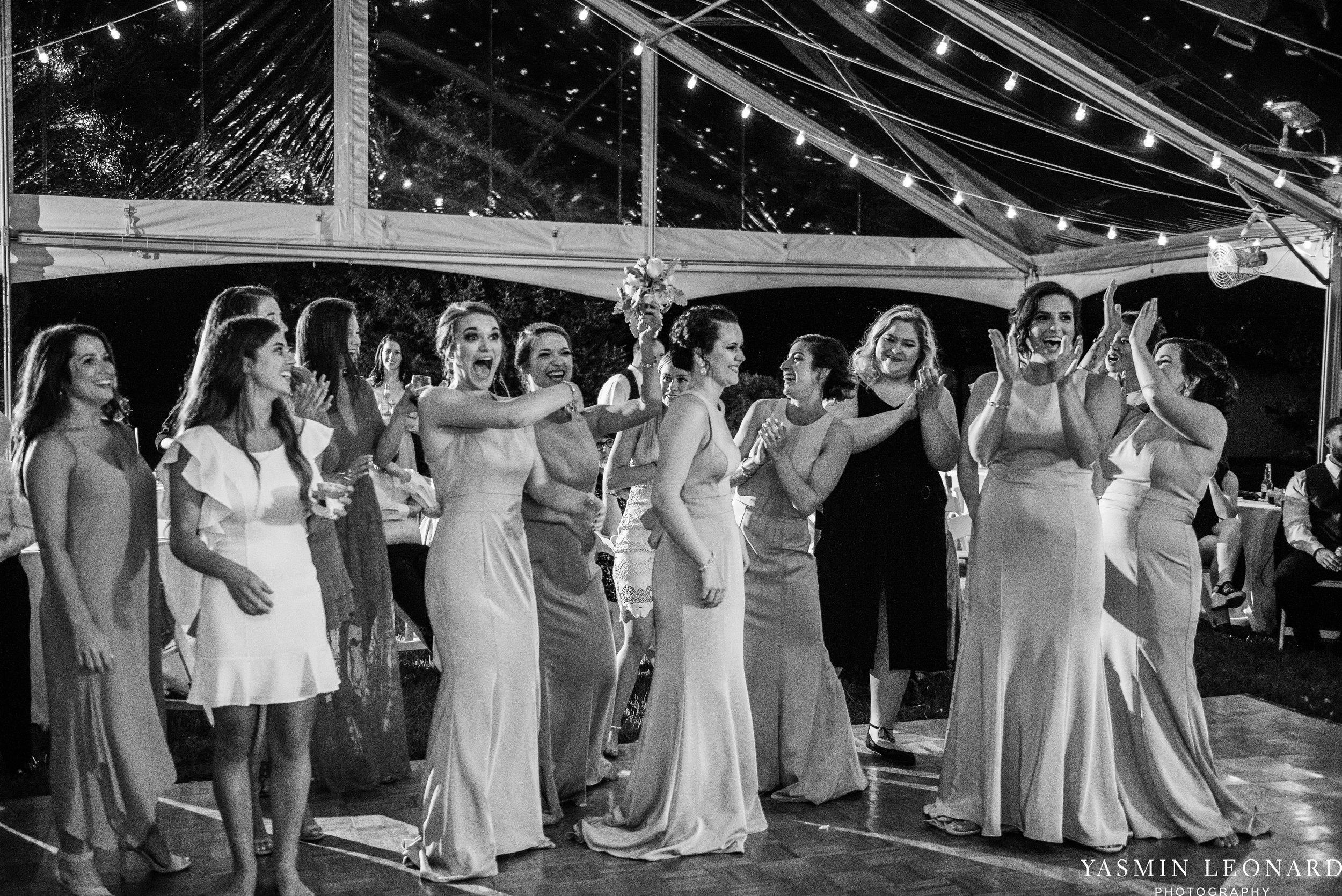 Boxwood Estate - Boxwood Estate Wedding - Luxury Wedding - Black and White Wedding - NC Wedding Venues - NC Weddings - NC Photographer - Lantern Release Grand Exit - Large Wedding Party - Yasmin Leonard Photography-84.jpg