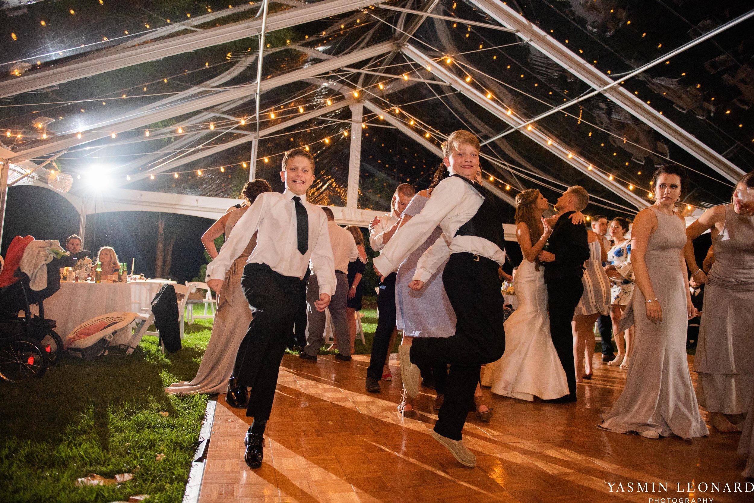 Boxwood Estate - Boxwood Estate Wedding - Luxury Wedding - Black and White Wedding - NC Wedding Venues - NC Weddings - NC Photographer - Lantern Release Grand Exit - Large Wedding Party - Yasmin Leonard Photography-85.jpg