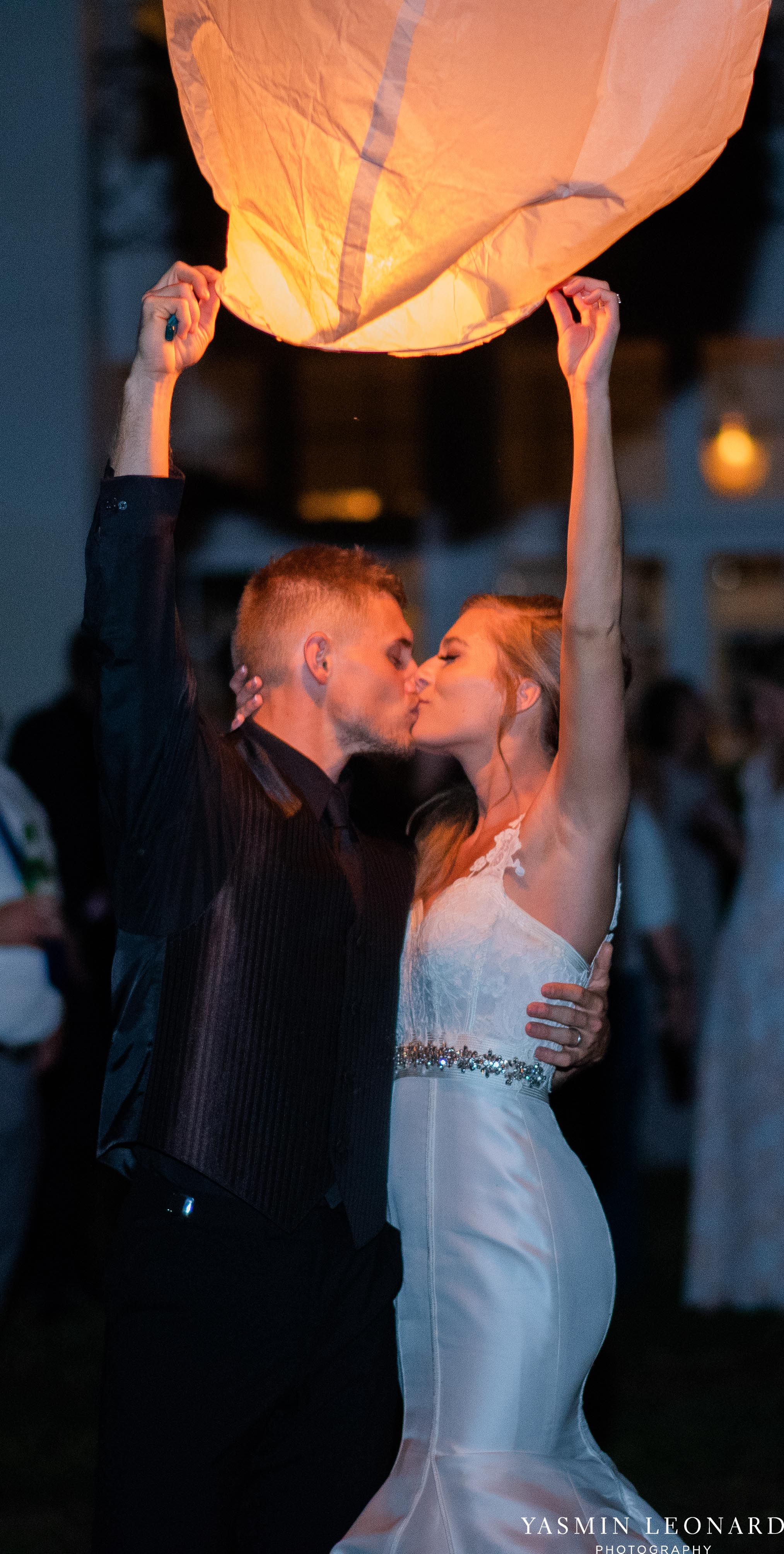 Boxwood Estate - Boxwood Estate Wedding - Luxury Wedding - Black and White Wedding - NC Wedding Venues - NC Weddings - NC Photographer - Lantern Release Grand Exit - Large Wedding Party - Yasmin Leonard Photography-90.jpg