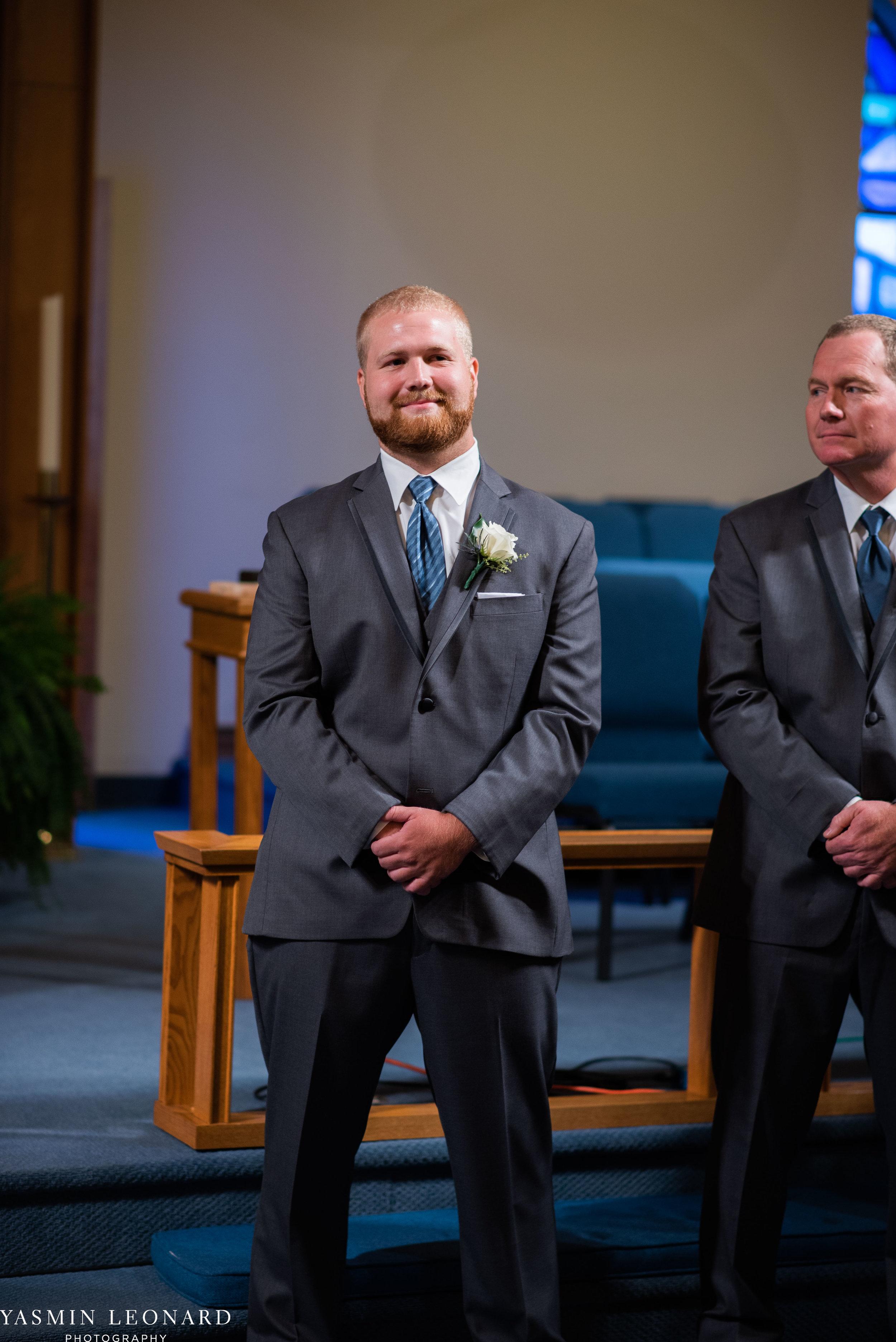 Mt. Pleasant Church - Church Wedding - Traditional Wedding - Church Ceremony - Country Wedding - Godly Wedding - NC Wedding Photographer - High Point Weddings - Triad Weddings - NC Venues-21.jpg