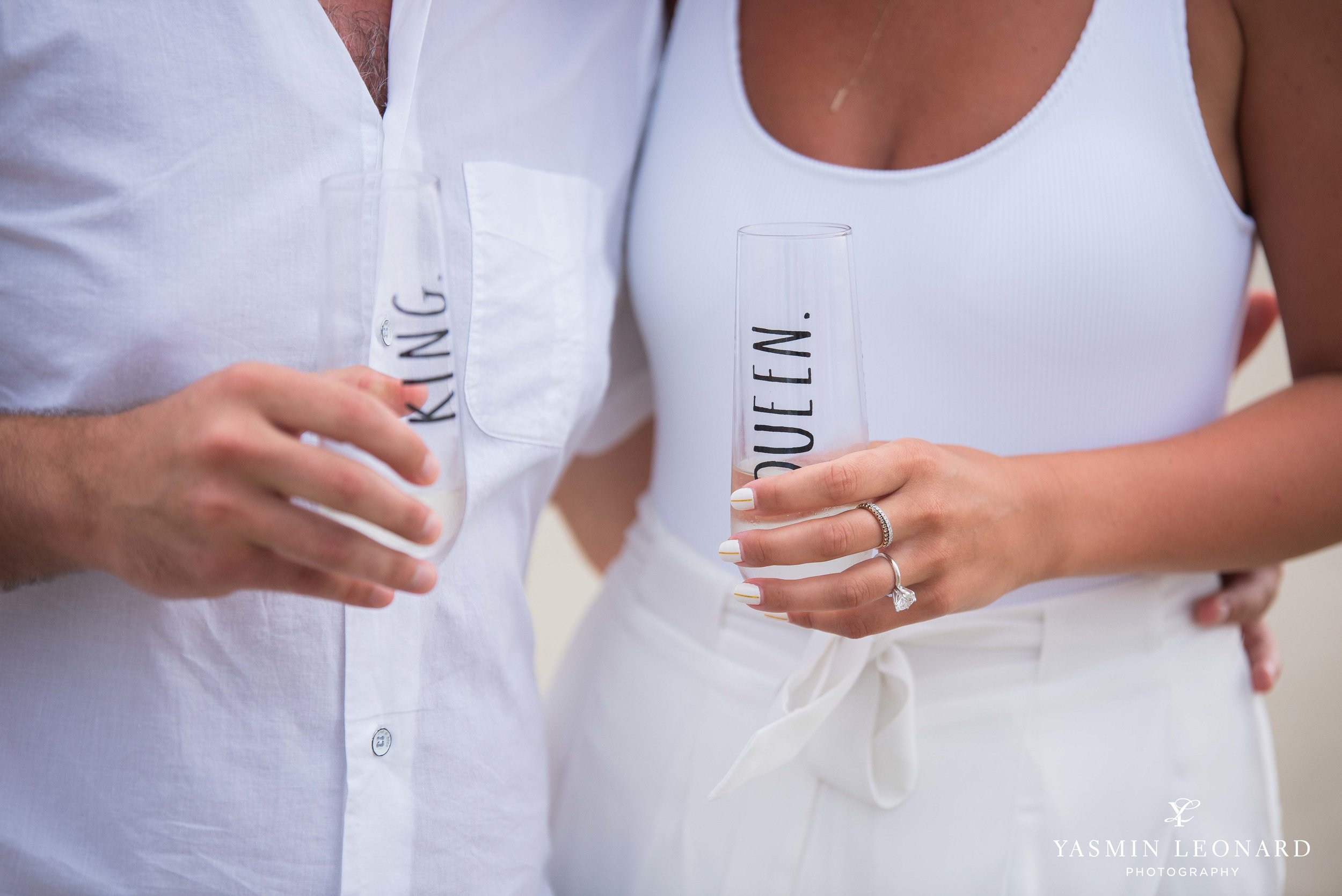 Beach Proposal - Beach Engagement Kiawah Island Photographer - NC Beach Photographer - How He Asked - NC Photographer - Proposal Ideas - Engagement Ring - Yasmin Leonard Photography-6.jpg