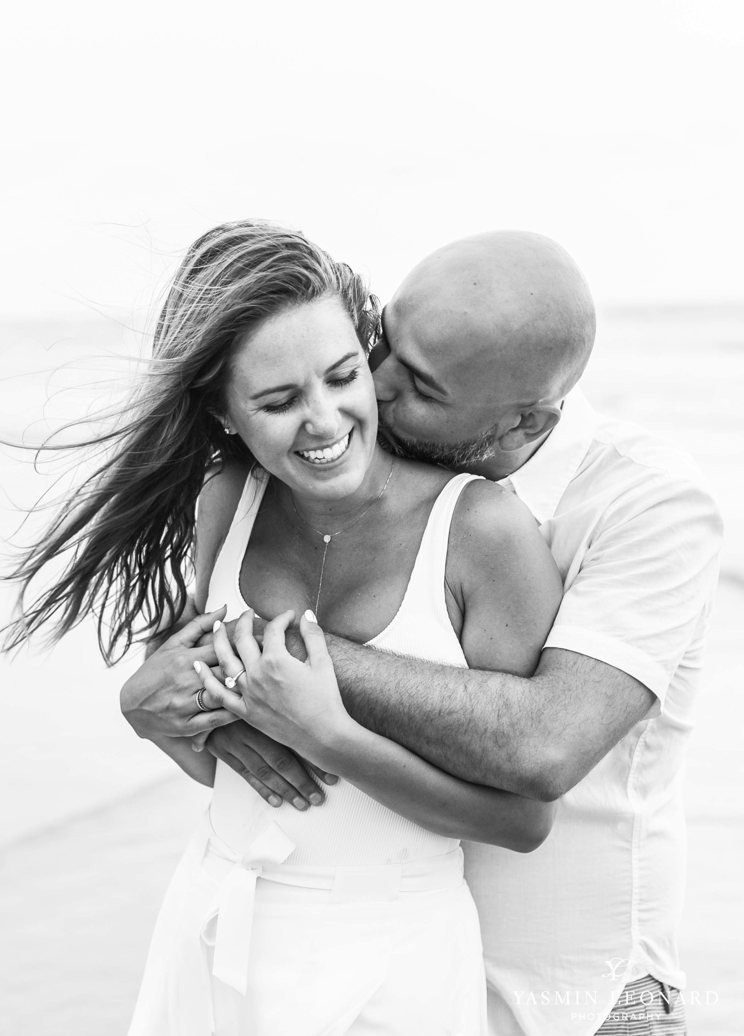 Beach Proposal - Beach Engagement Kiawah Island Photographer - NC Beach Photographer - How He Asked - NC Photographer - Proposal Ideas - Engagement Ring - Yasmin Leonard Photography-17.jpg