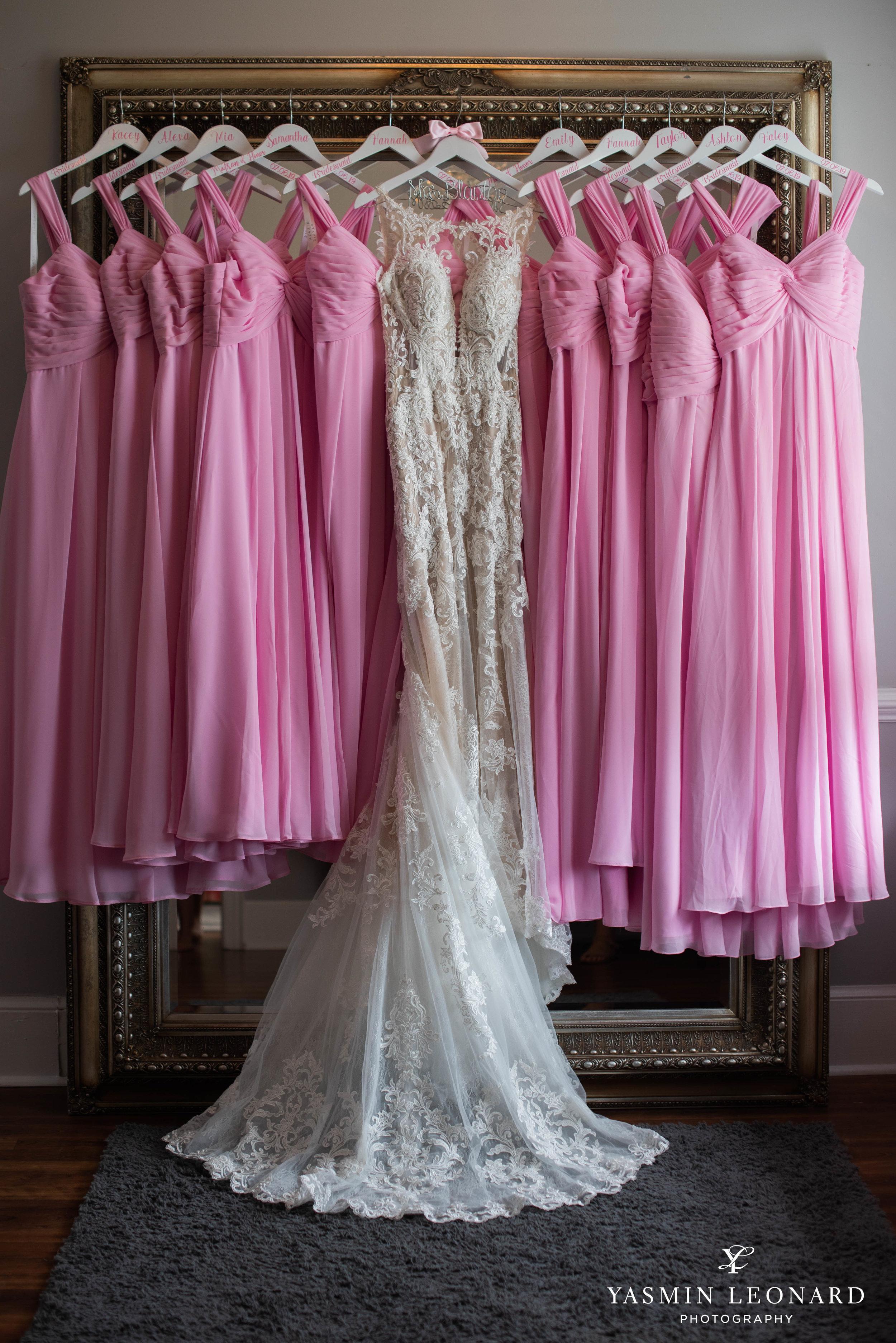 Separk Mansion - NC Weddings - Gastonia Wedding - NC Wedding Venues - Pink and Blue Wedding Ideas - Pink Bridesmaid Dresses - Yasmin Leonard Photography-6.jpg