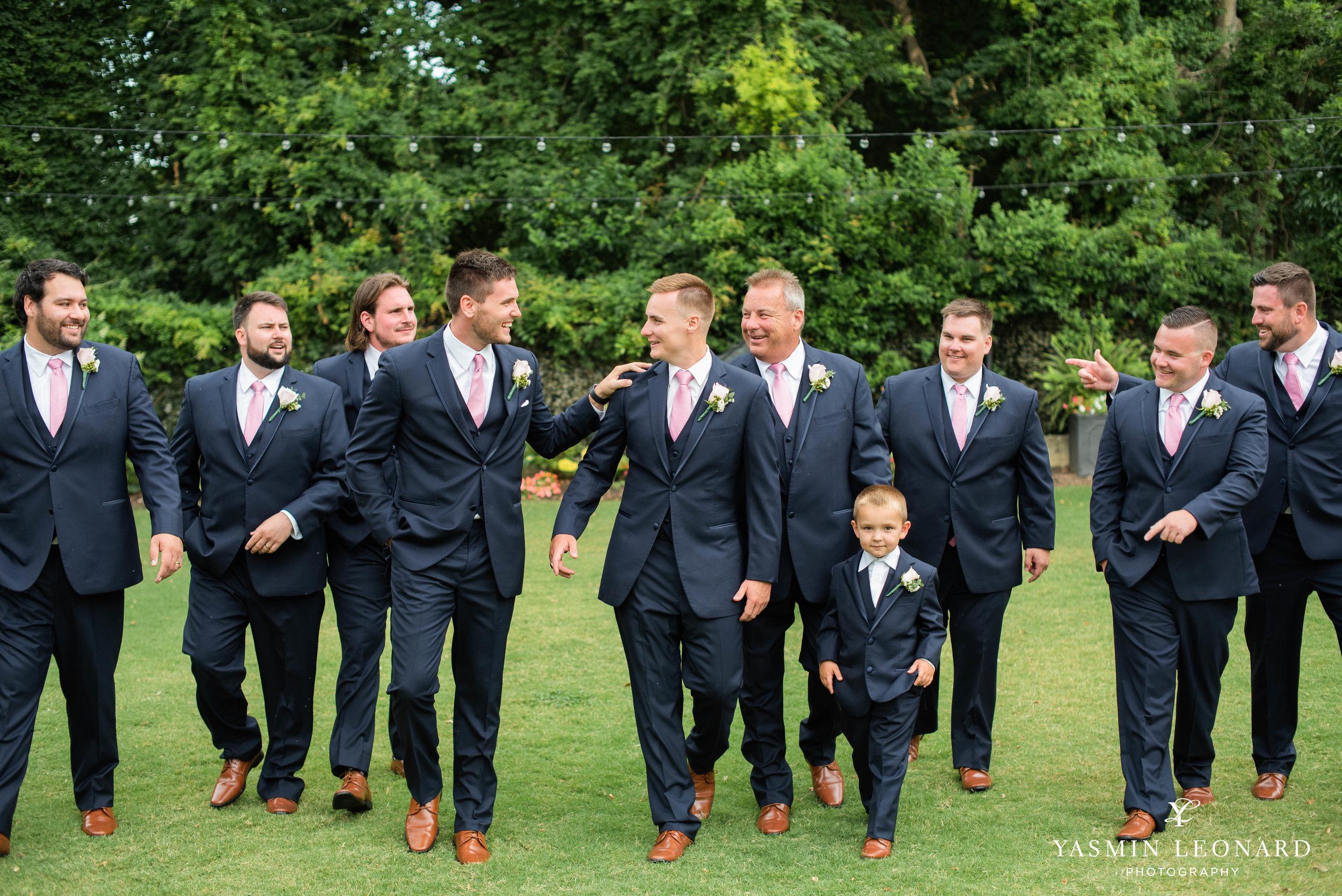 Separk Mansion - NC Weddings - Gastonia Wedding - NC Wedding Venues - Pink and Blue Wedding Ideas - Pink Bridesmaid Dresses - Yasmin Leonard Photography-15.jpg