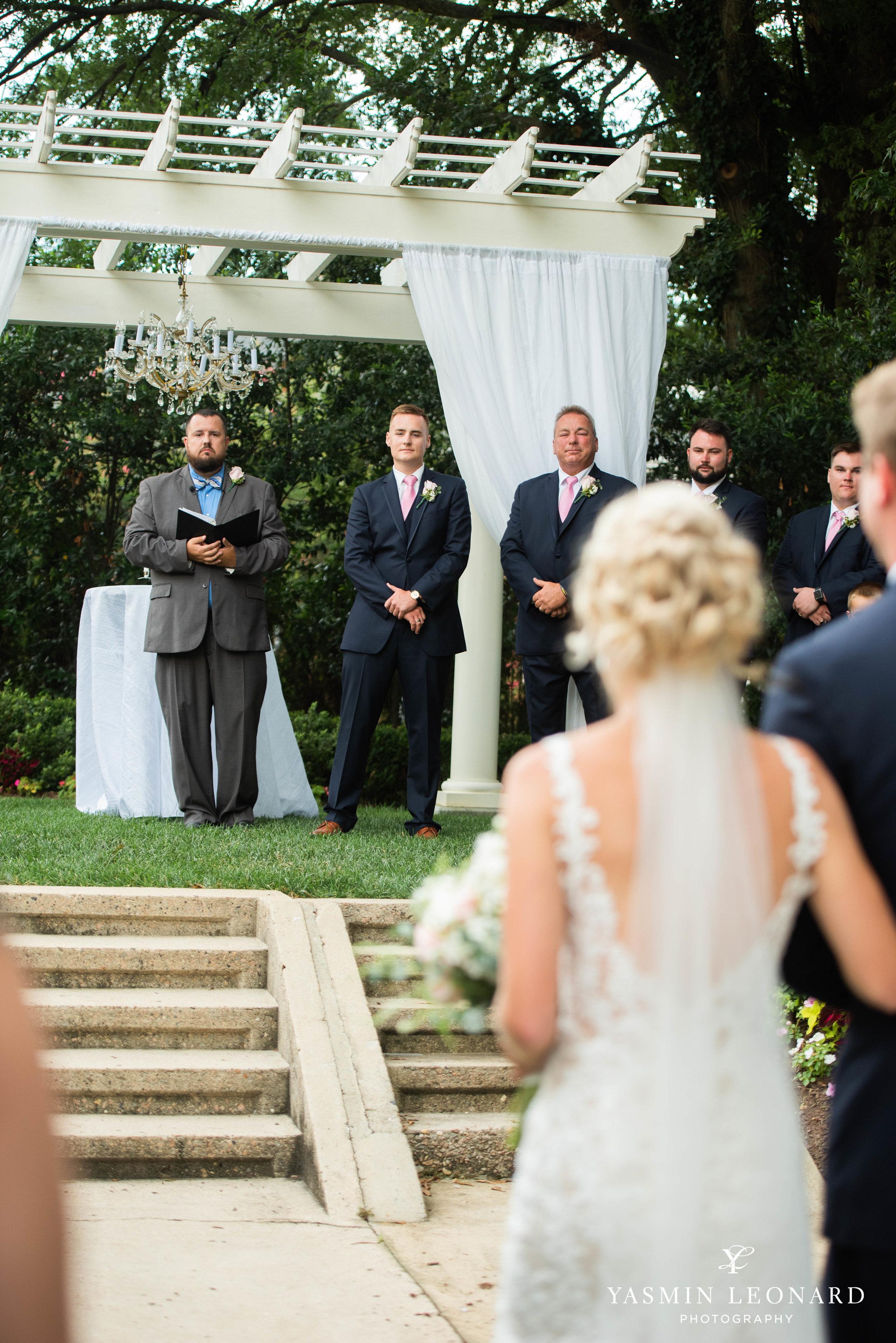 Separk Mansion - NC Weddings - Gastonia Wedding - NC Wedding Venues - Pink and Blue Wedding Ideas - Pink Bridesmaid Dresses - Yasmin Leonard Photography-20.jpg